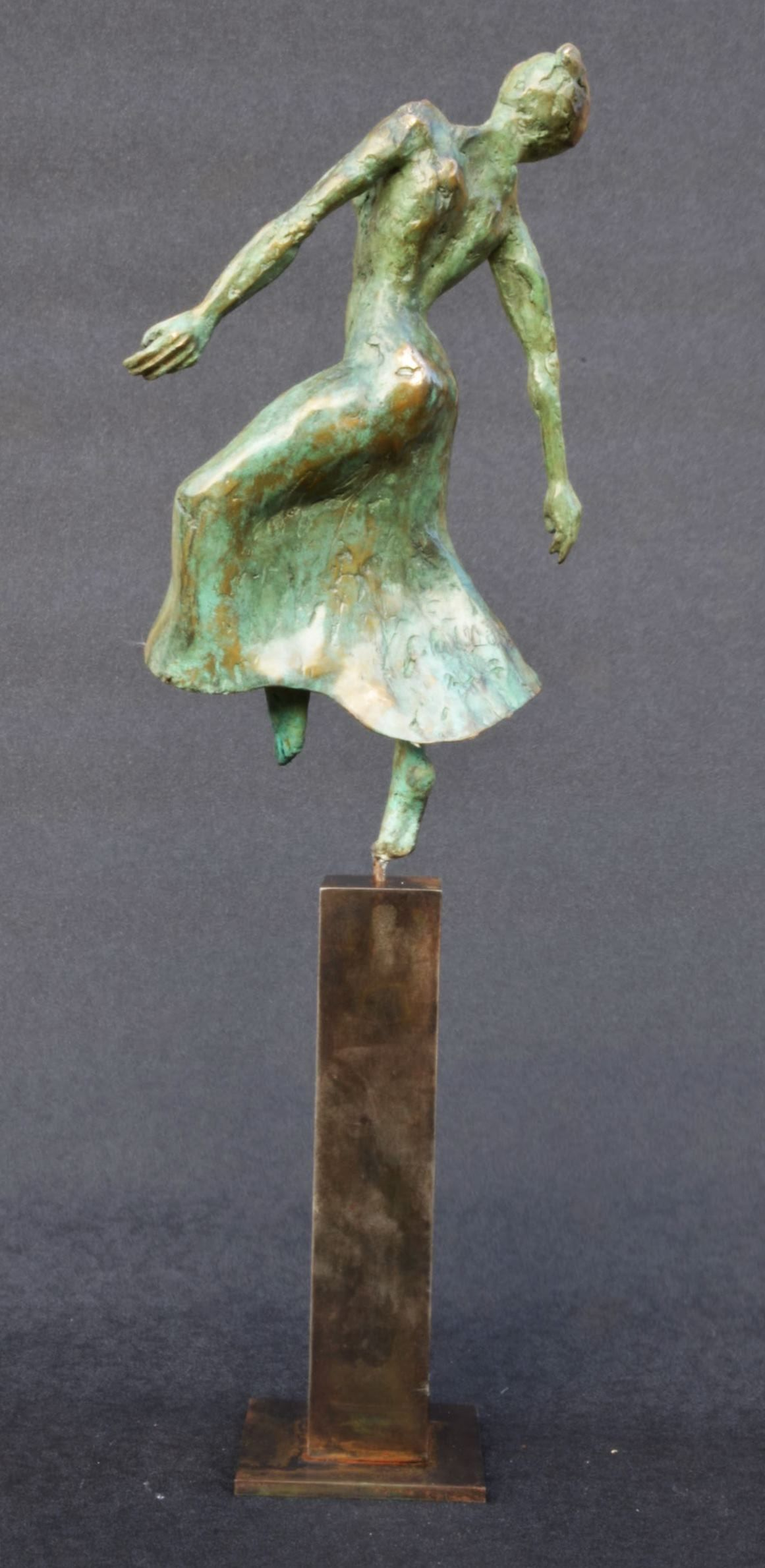 Danseuse moderne II,Yann Guillon,Sculpture