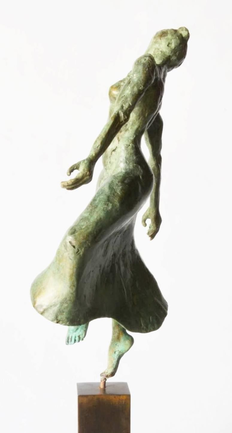 Danseuse moderne II,Yann Guillon,Sculpture, detail 3