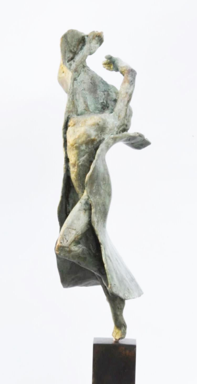 Danseuse moderne III,Yann Guillon,Sculpture, detail 3