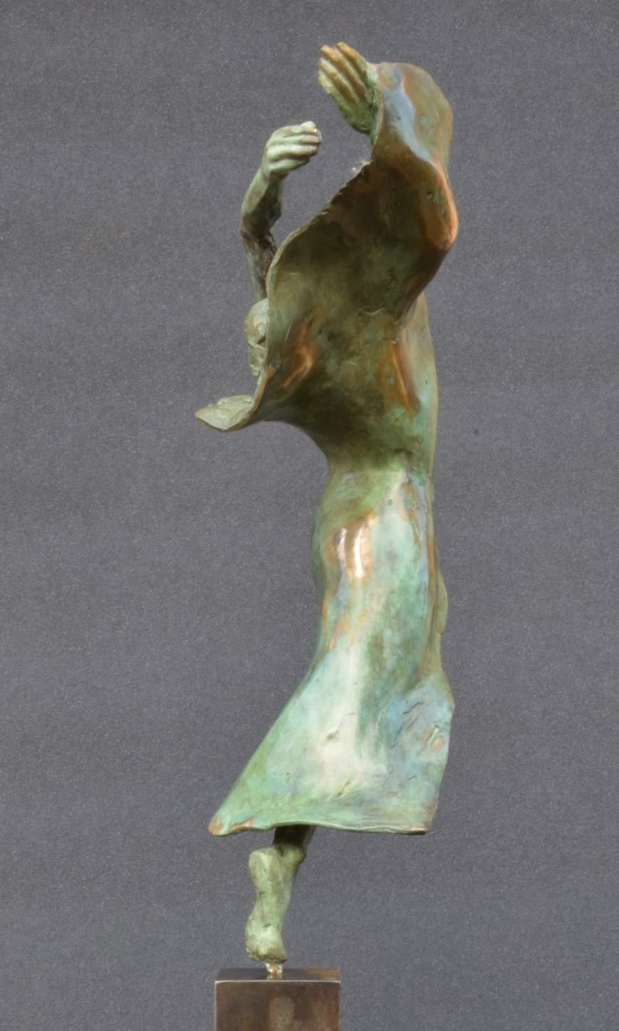 Danseuse moderne III,Yann Guillon,Sculpture, detail 2