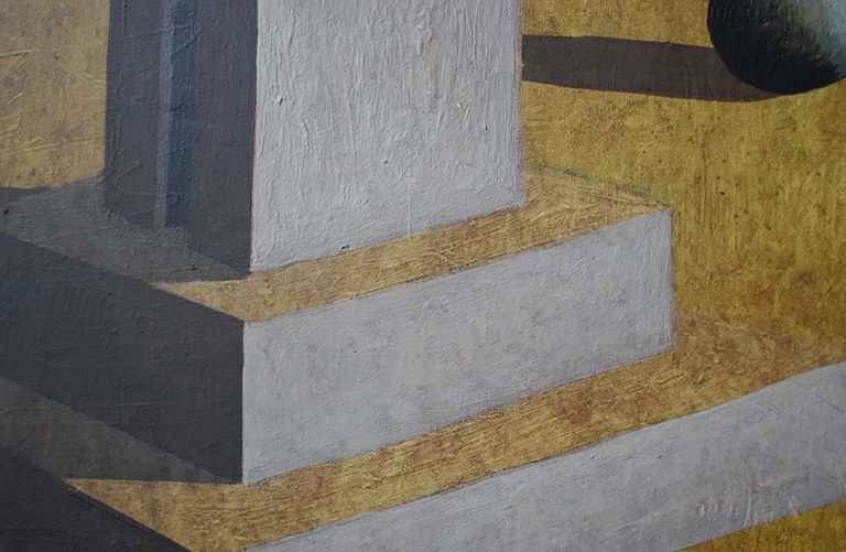Dar,Ramon Enrich,Peinture contemporaine, detail 2