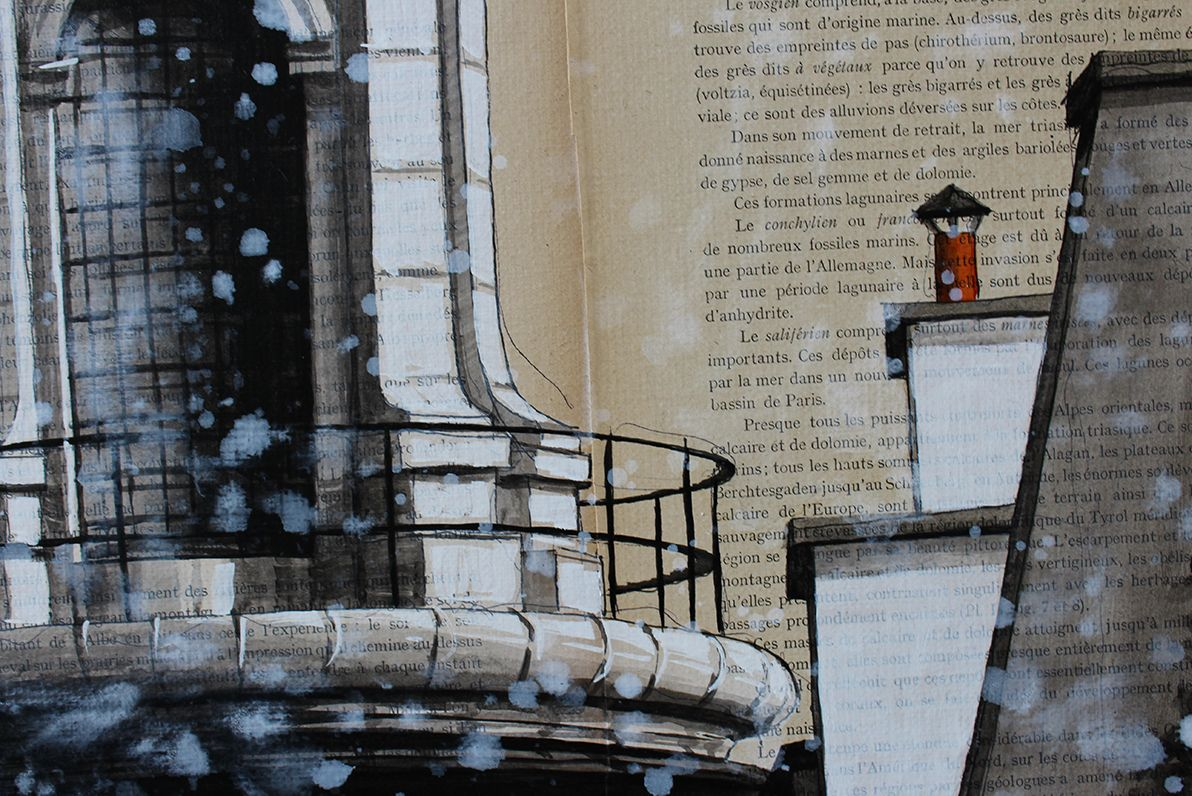 Dome,Guillaume Chansarel,Contemporary painting, detail 3