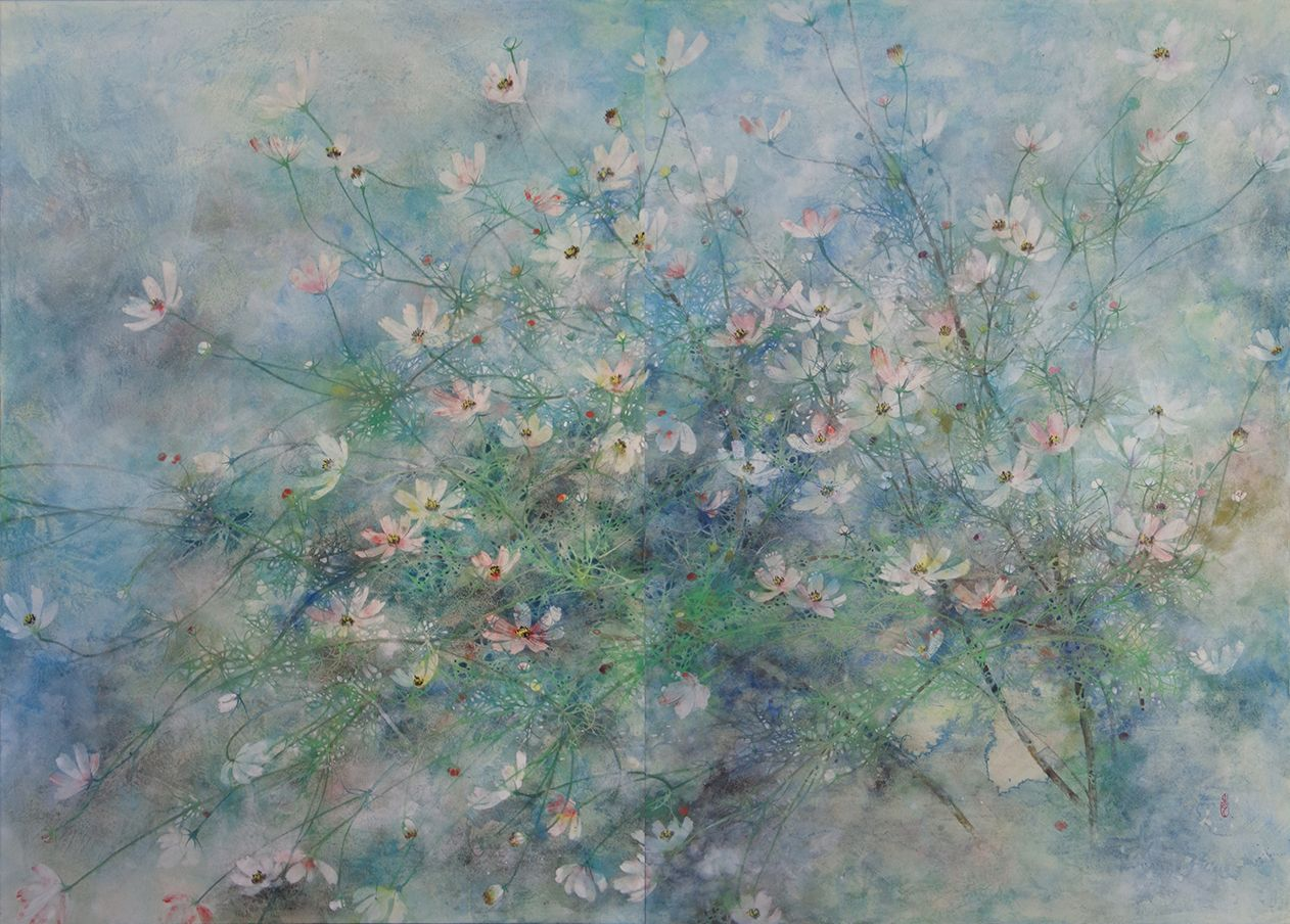 Hope, Cosmos series - Chen Yiching - Contemporary painting