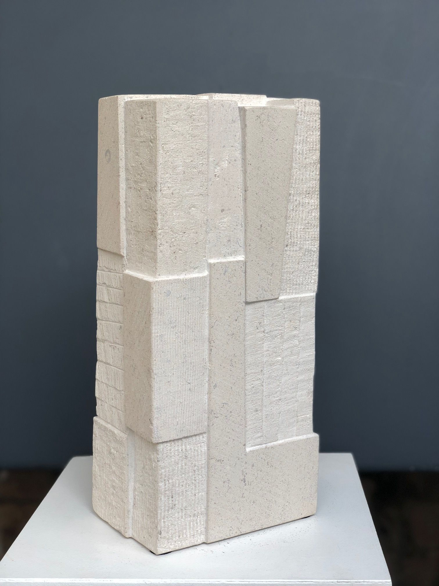 Being stone, Unity series - Delphine Brabant - Sculpture - detail 1