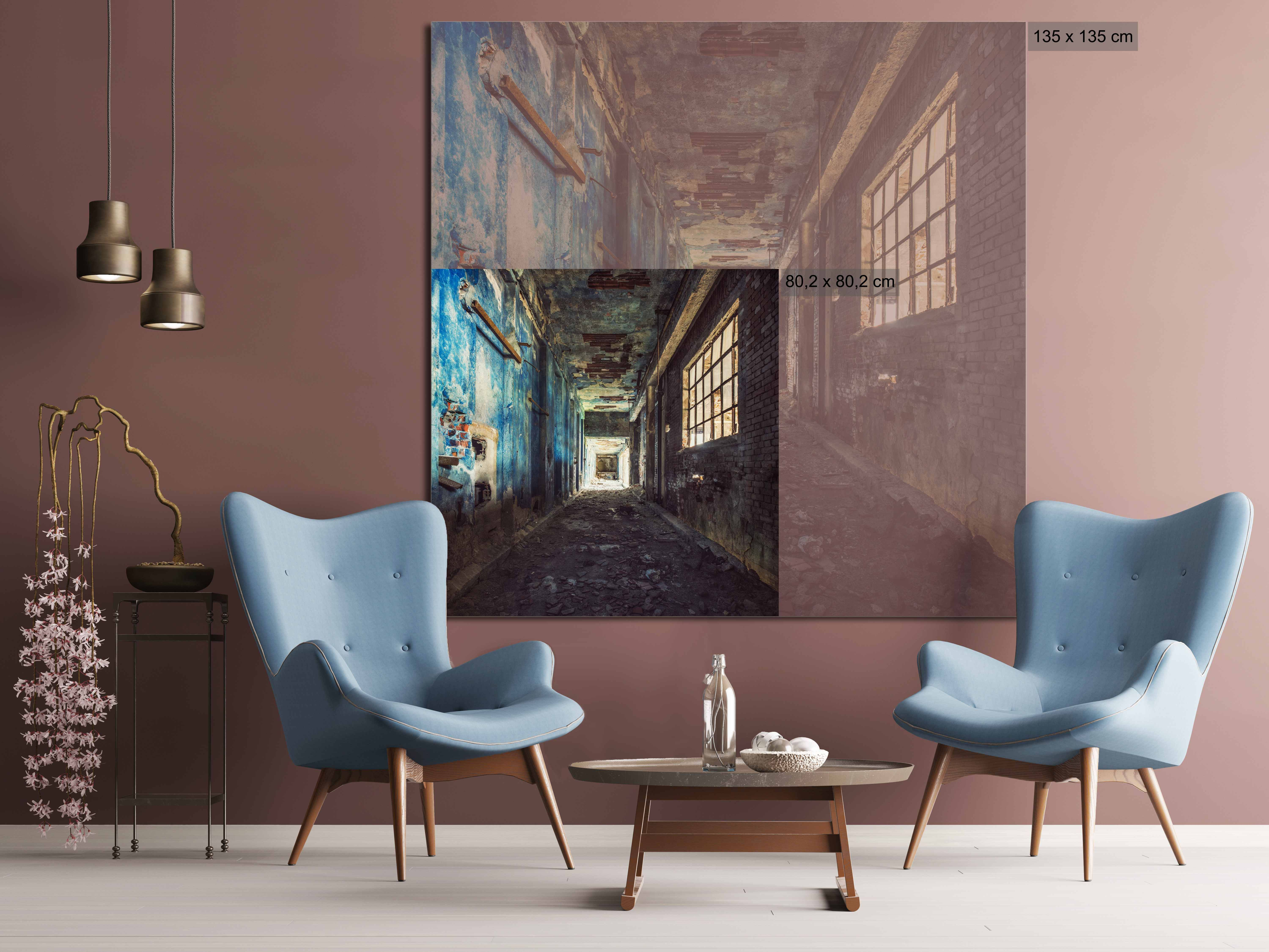 Factory Walkway - Gina Soden - Photographie contemporaine - detail 1