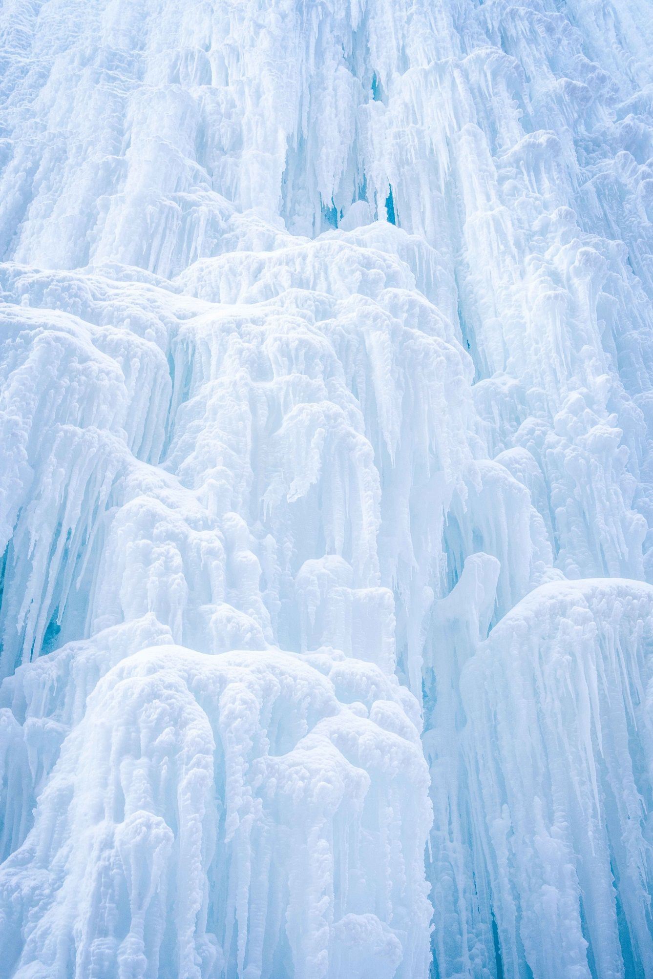Frozen Waterfall,Luca Marziale,Photographie