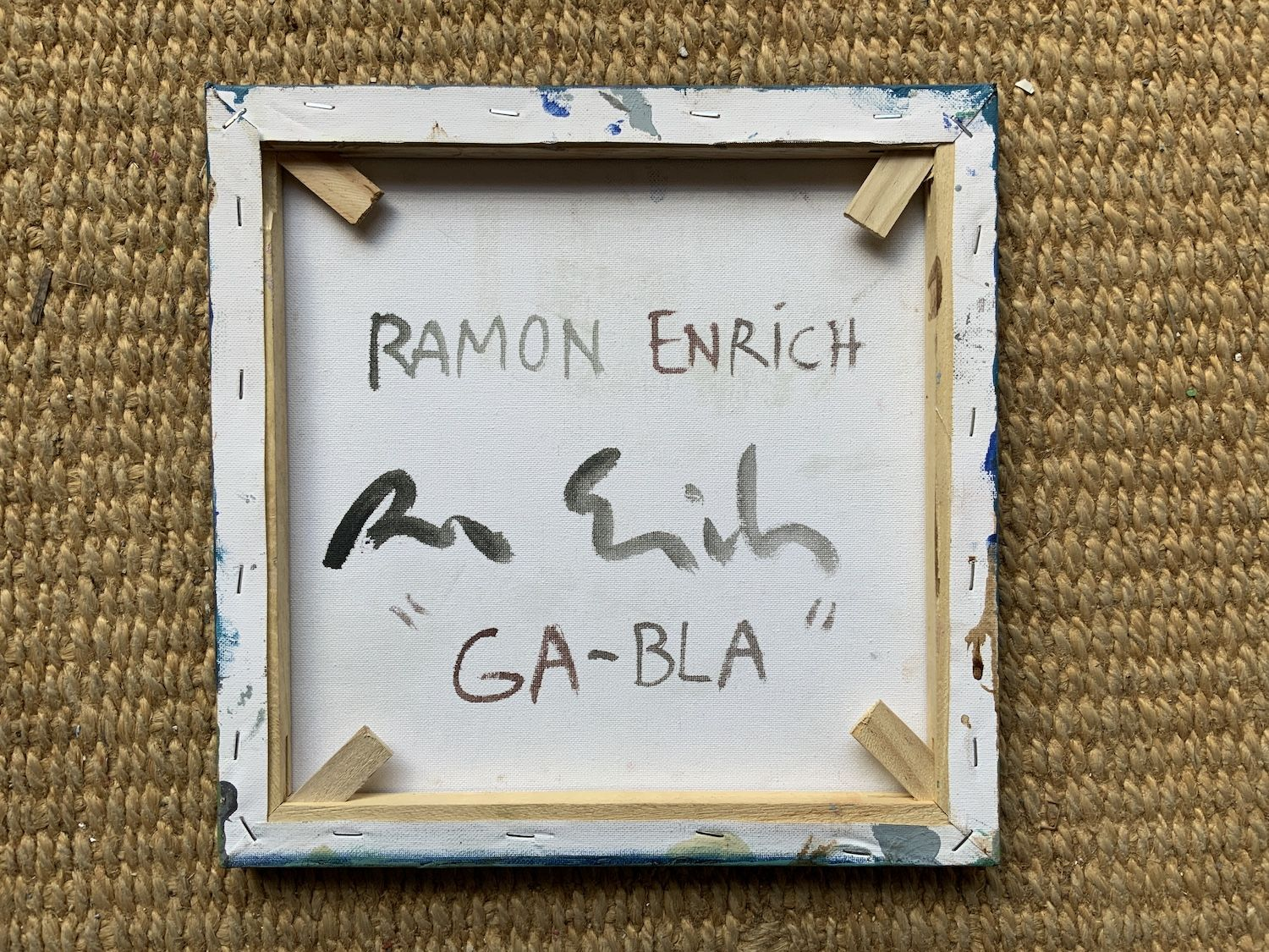 GA-BLA,Ramon Enrich,Contemporary painting, detail 4