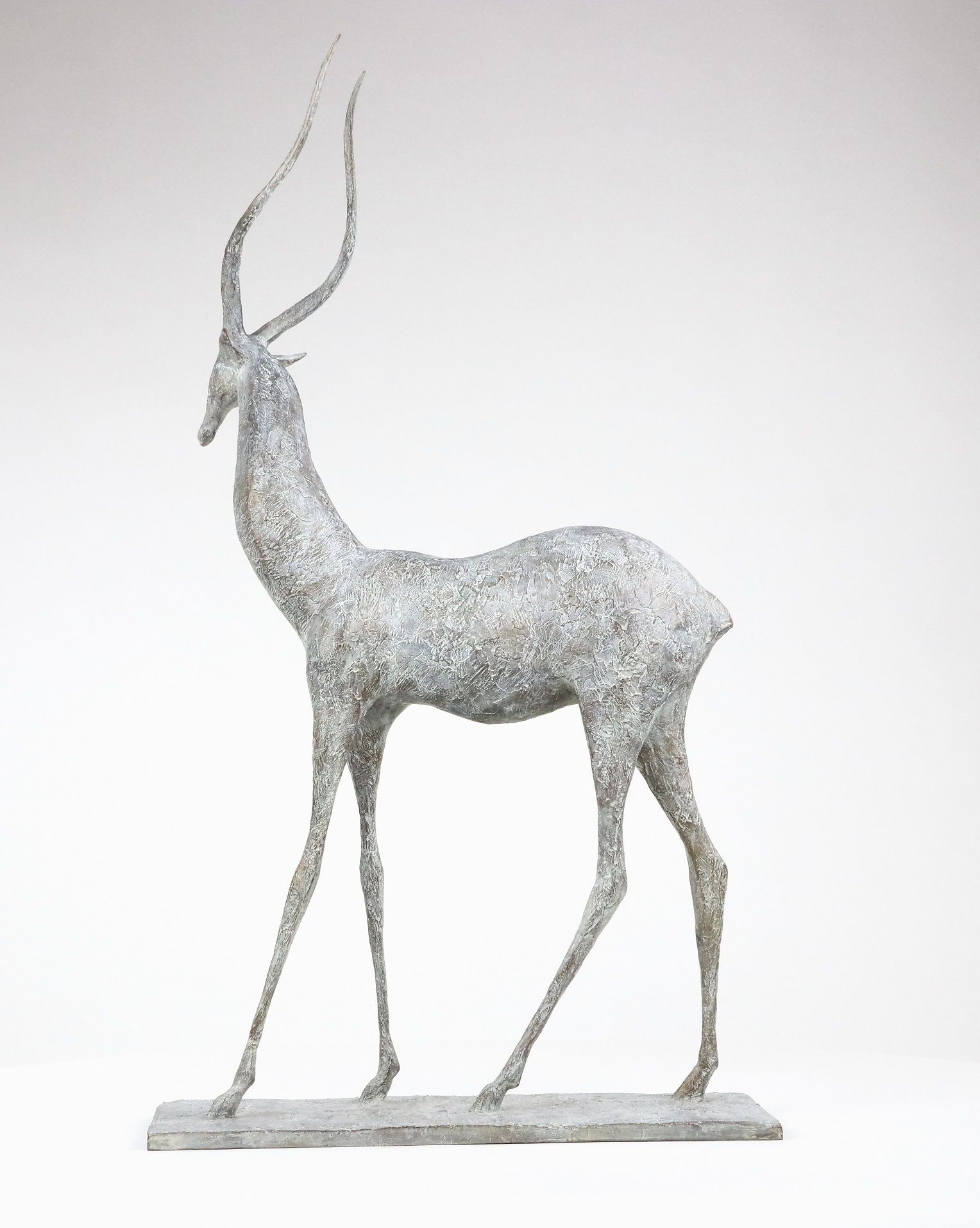 Gazelle I, Pierre Yermia,Sculpture contemporaine, detail 1