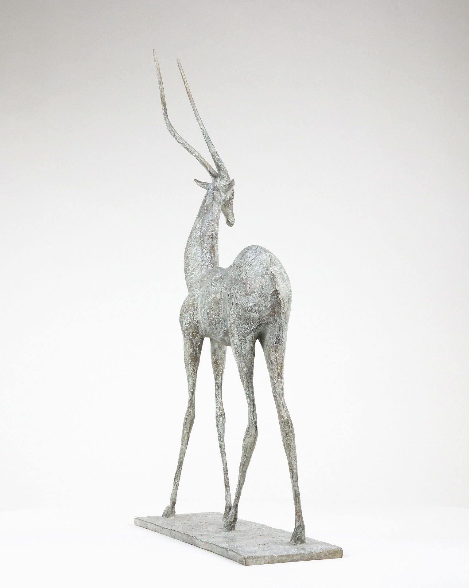 Gazelle I, Pierre Yermia,Sculpture contemporaine, detail 2