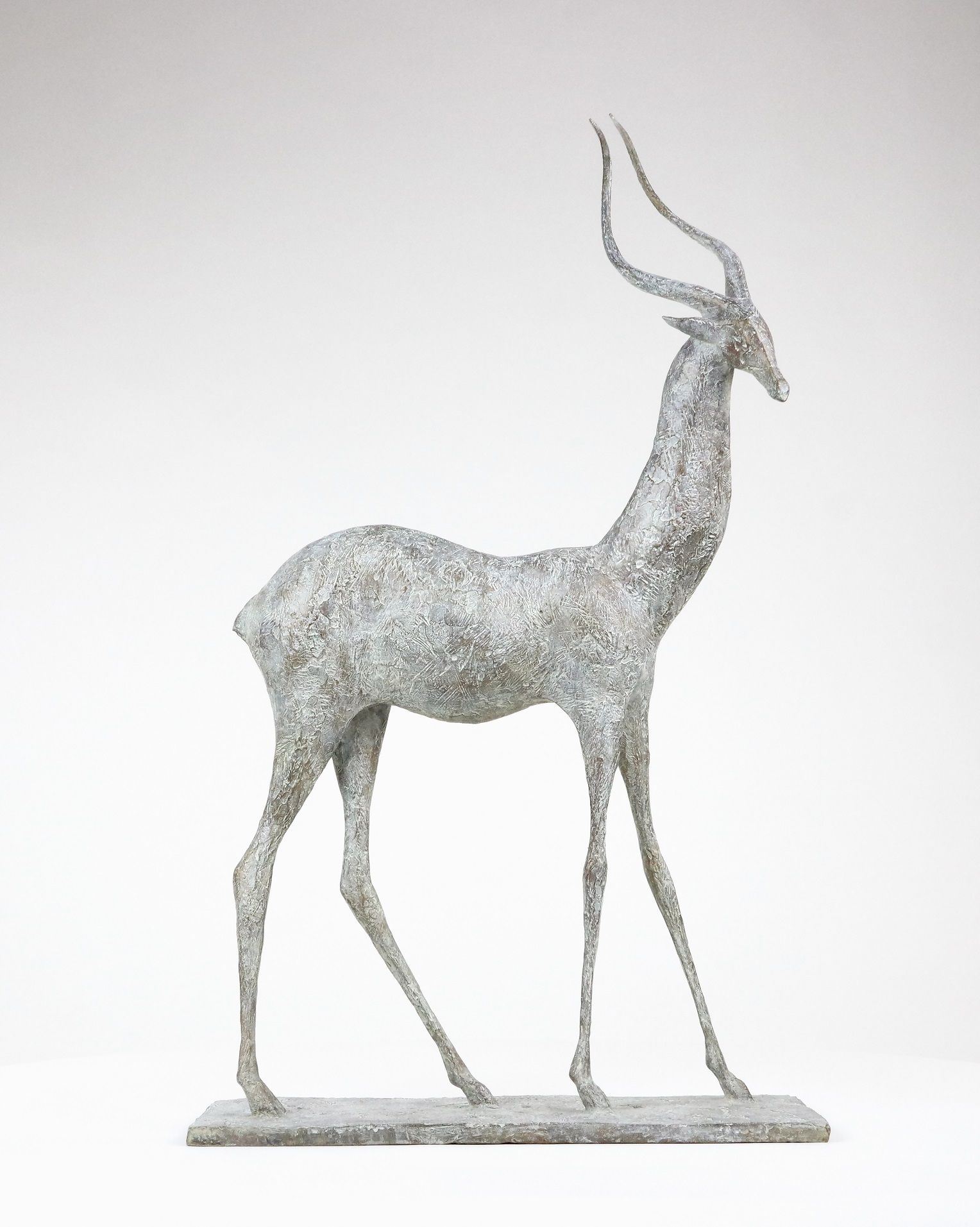 Gazelle I, Pierre Yermia,Sculpture contemporaine