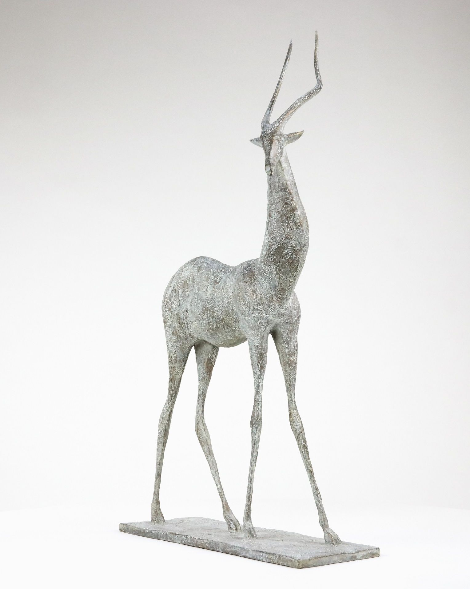 Gazelle I, Pierre Yermia,Sculpture contemporaine, detail 3