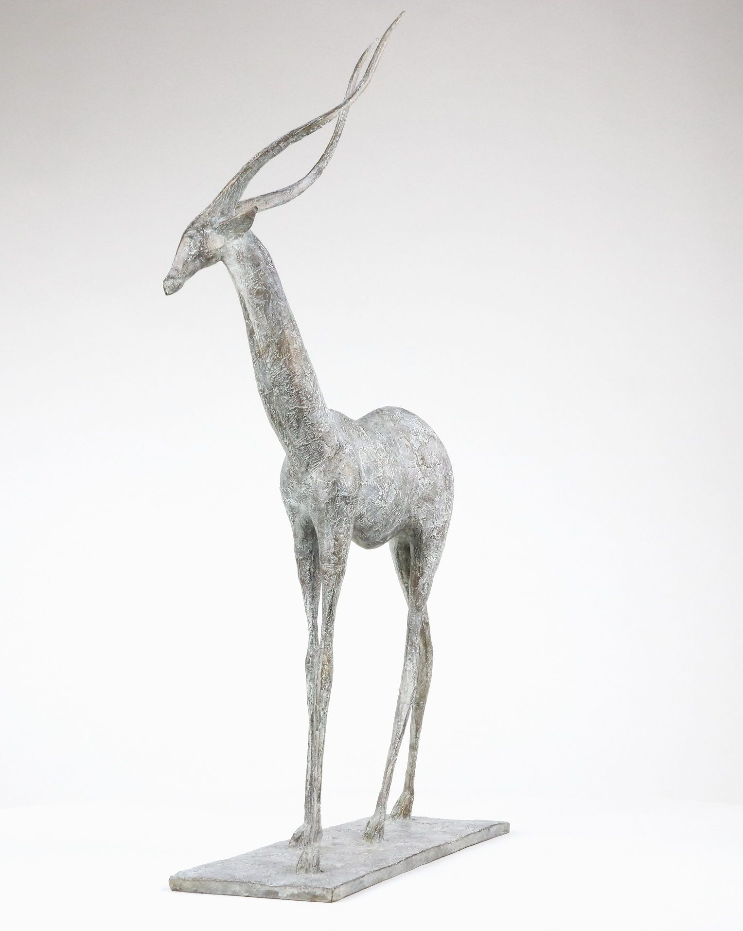 Gazelle I, Pierre Yermia,Sculpture contemporaine, detail 4