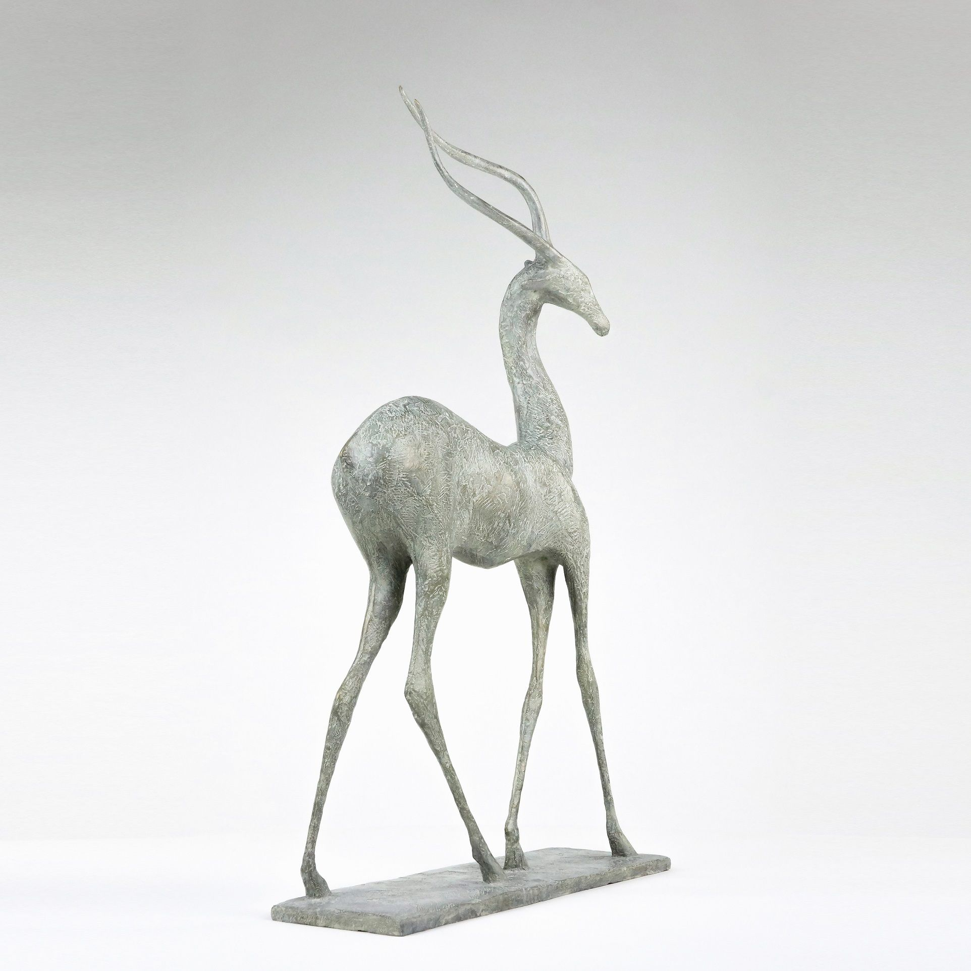 Gazelle II,Pierre Yermia,Sculpture, detail 4