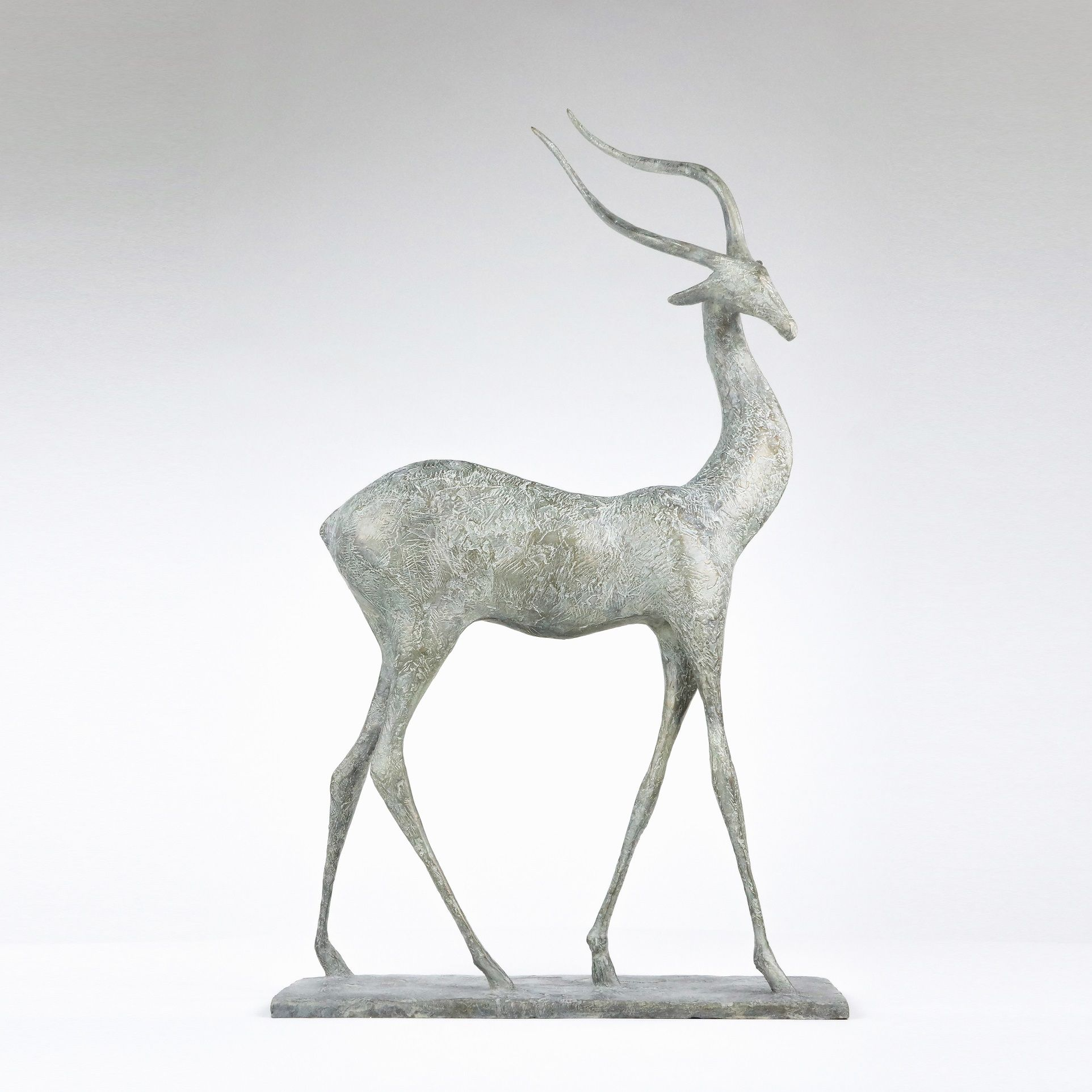 Gazelle II,Pierre Yermia,Sculpture