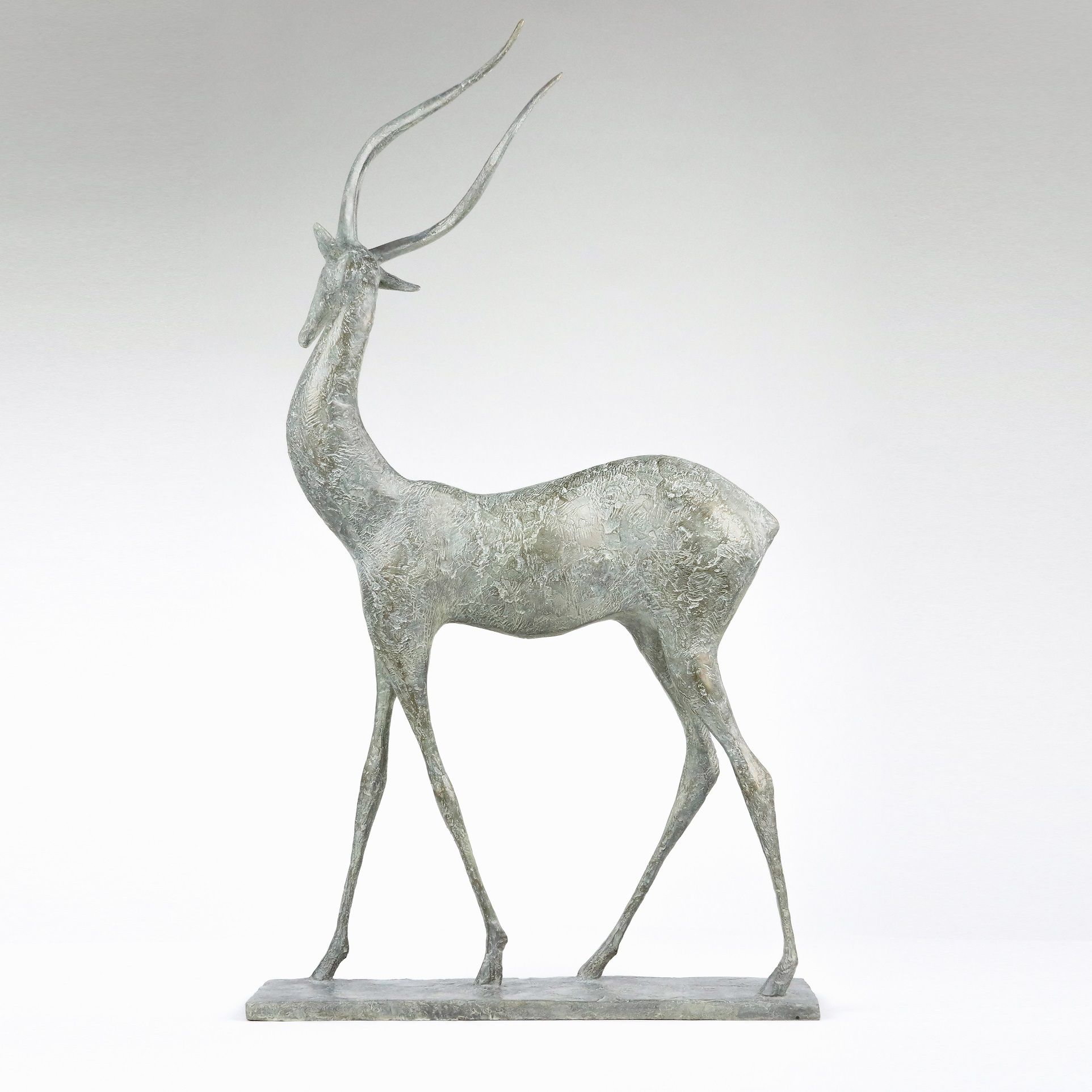Gazelle II,Pierre Yermia,Sculpture, detail 2