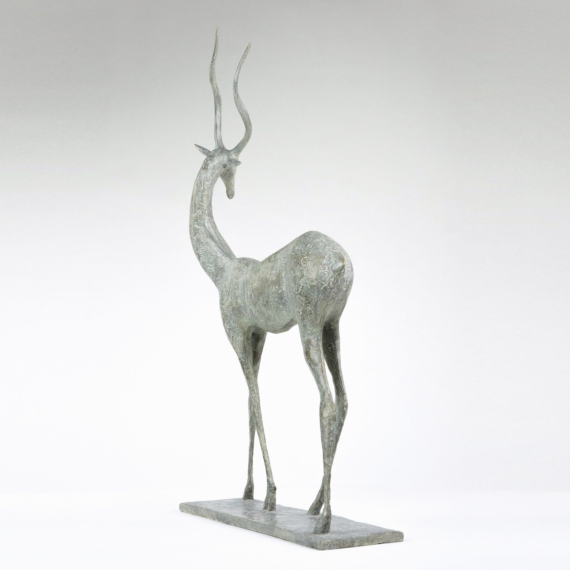Gazelle II,Pierre Yermia,Sculpture, detail 3