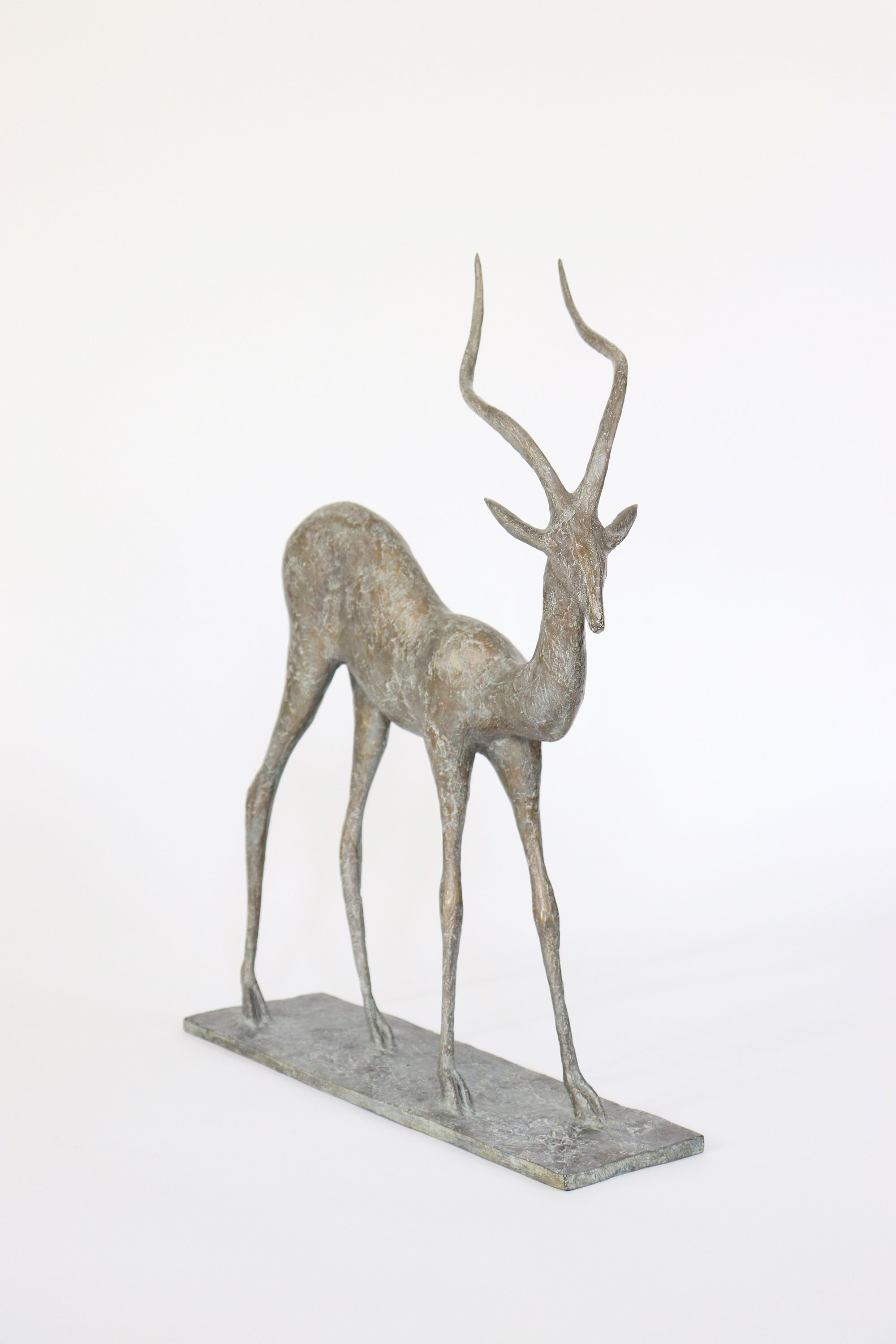 Gazelle III,Pierre Yermia,Sculpture, detail 2
