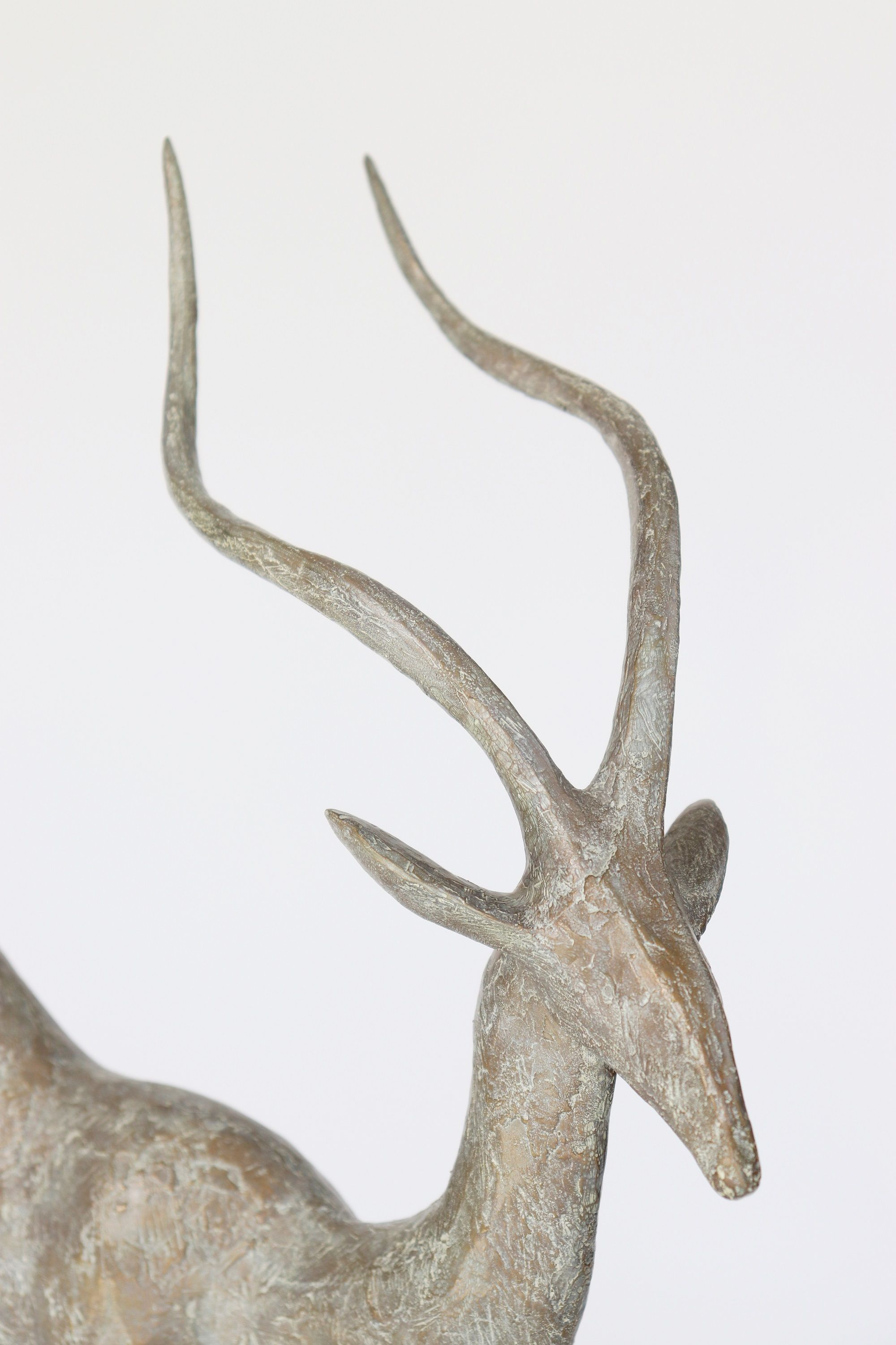 Gazelle III,Pierre Yermia,Sculpture, detail 3