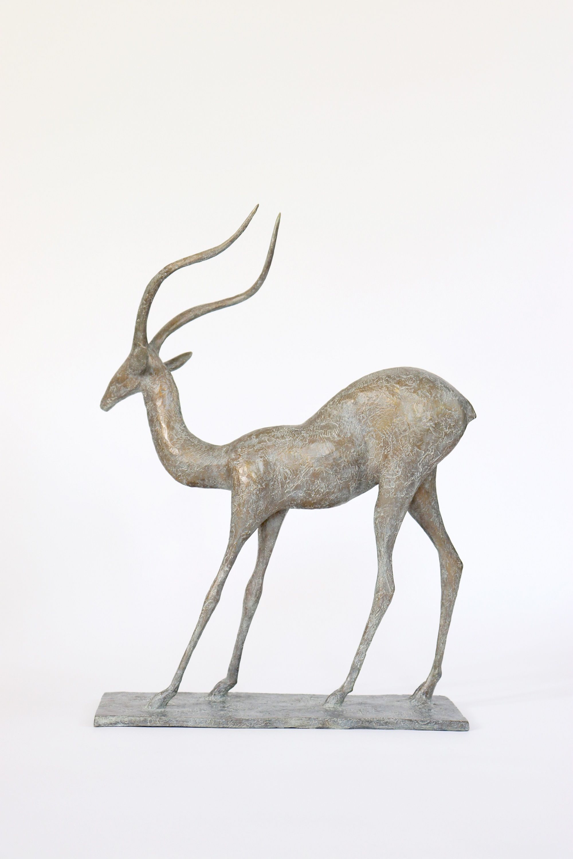 Gazelle III,Pierre Yermia,Sculpture, detail 1