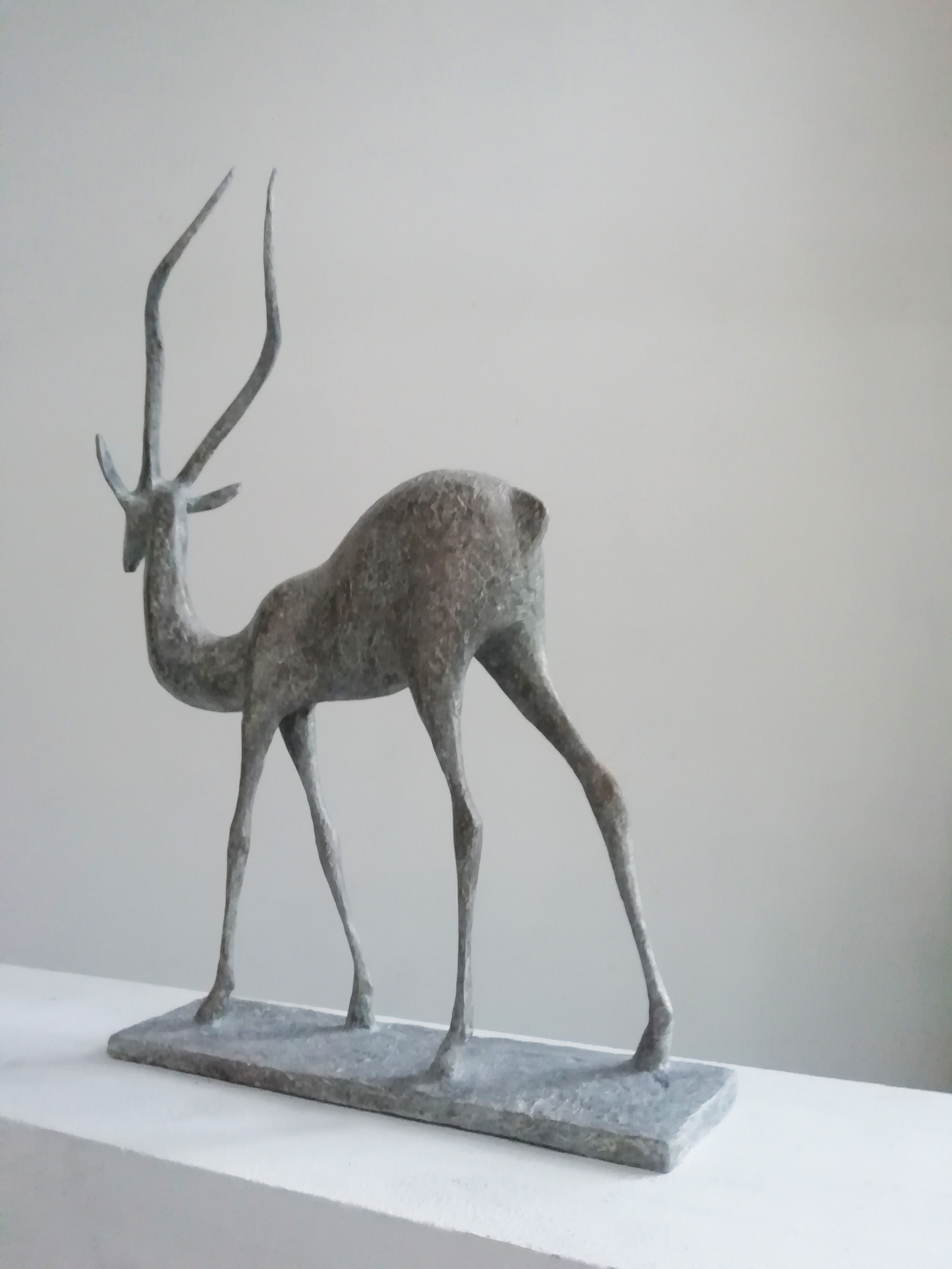 Gazelle V,Pierre Yermia,Sculpture, detail 2