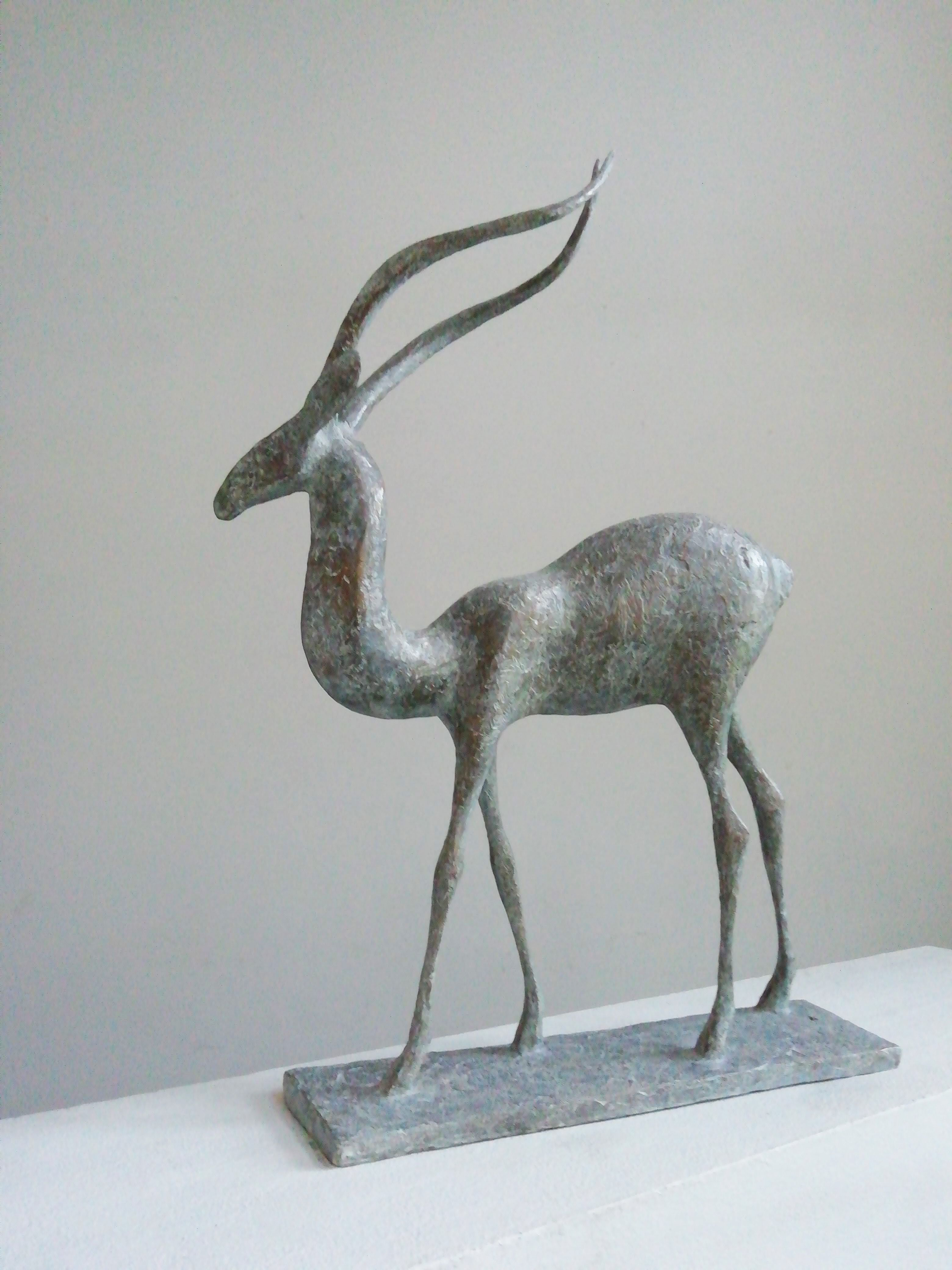 Gazelle V,Pierre Yermia,Sculpture, detail 1