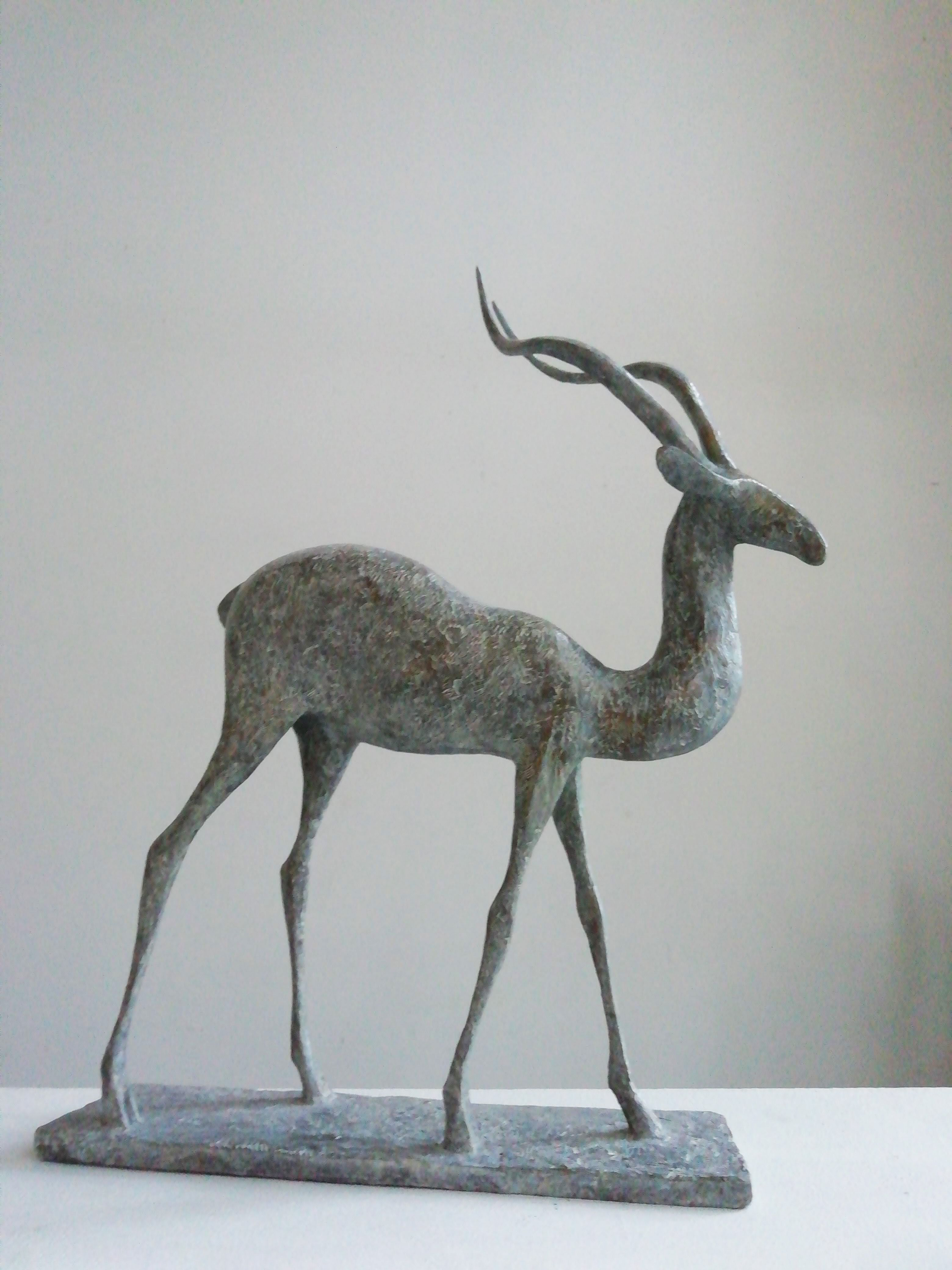 Gazelle V,Pierre Yermia,Sculpture