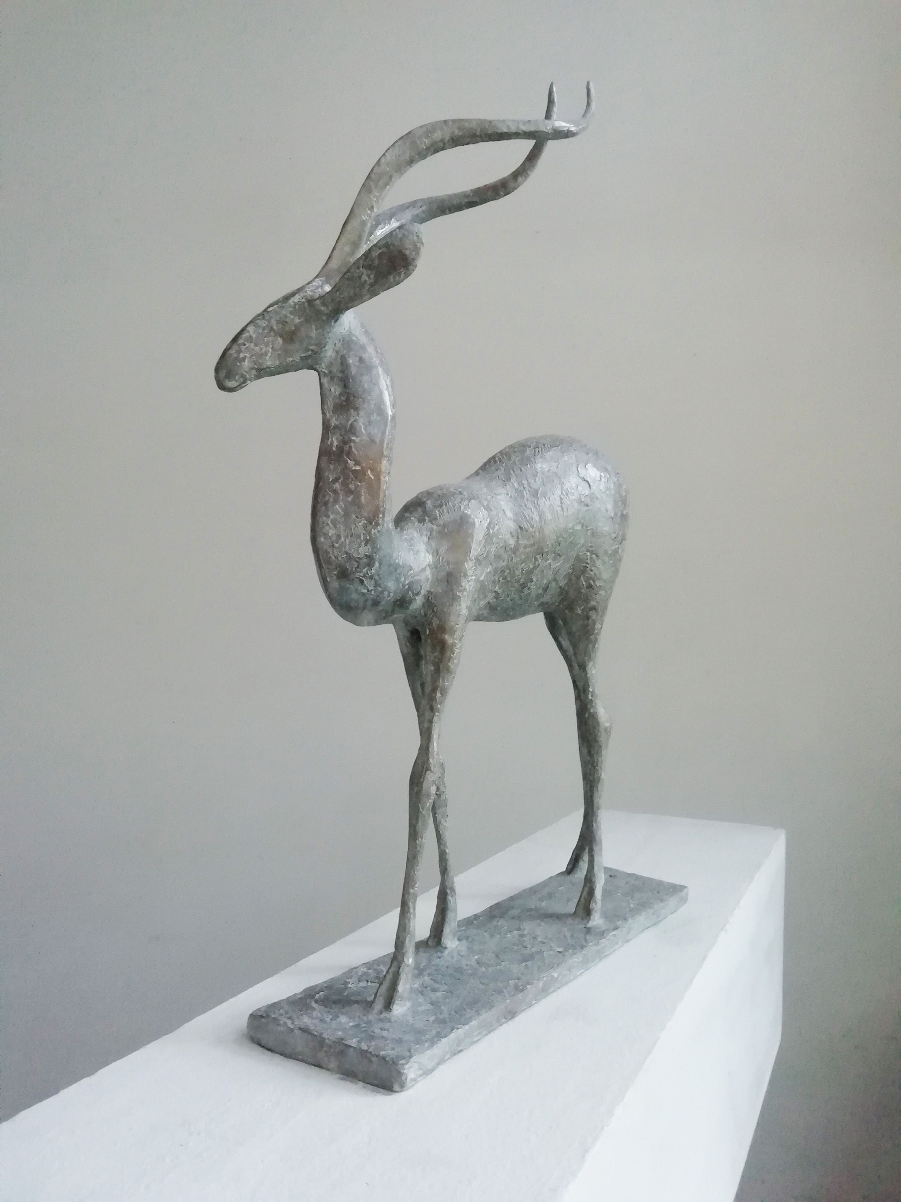 Gazelle V,Pierre Yermia,Sculpture, detail 3