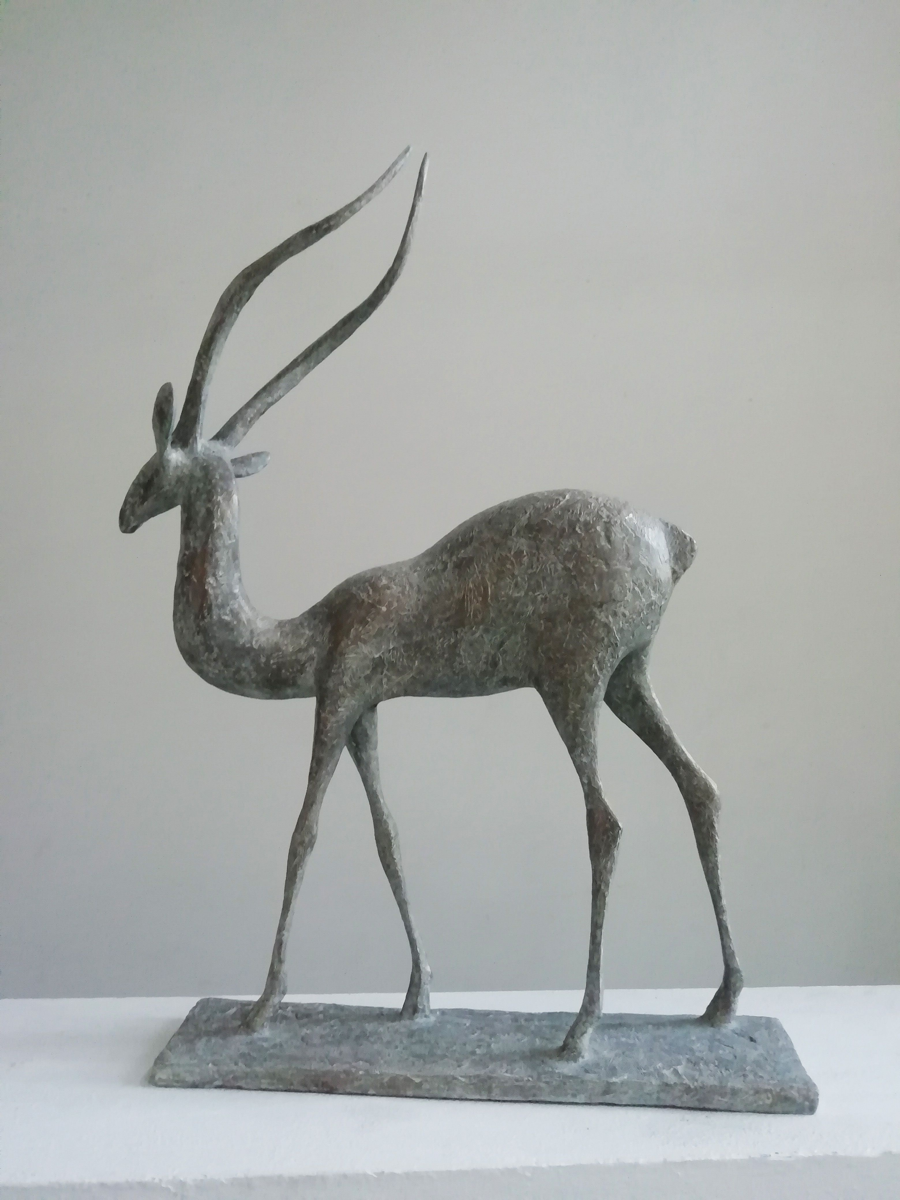 Gazelle V,Pierre Yermia,Sculpture, detail 4