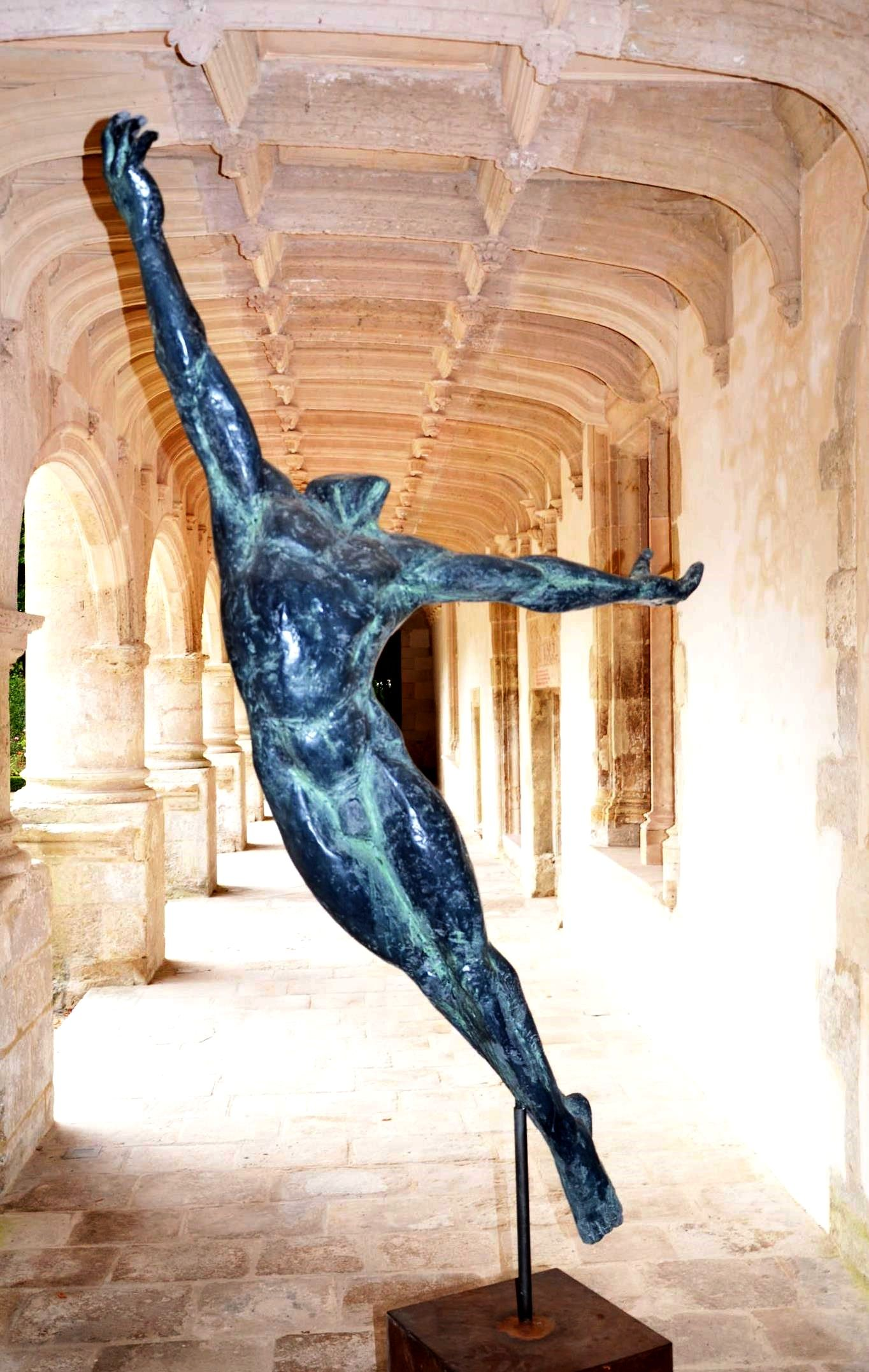Le Grand Danseur IV,Yann Guillon,Sculpture contemporaine, detail 4