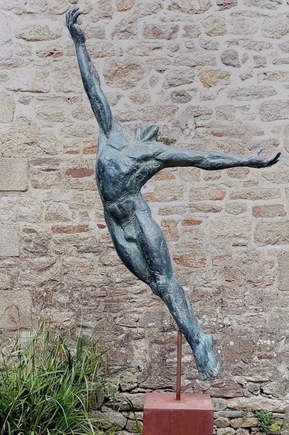 Le Grand Danseur IV,Yann Guillon,Sculpture, detail 4