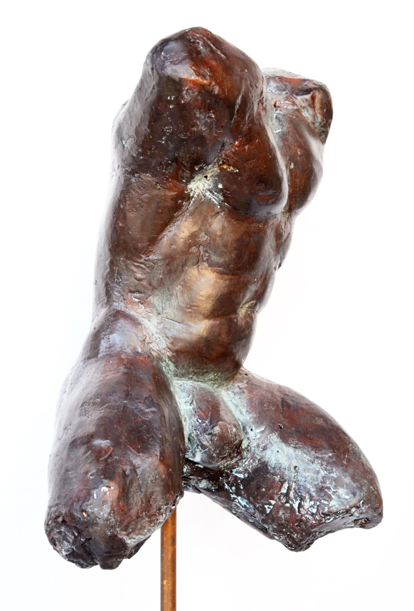 Impressionist man torso III,Yann Guillon,Sculpture, detail 2