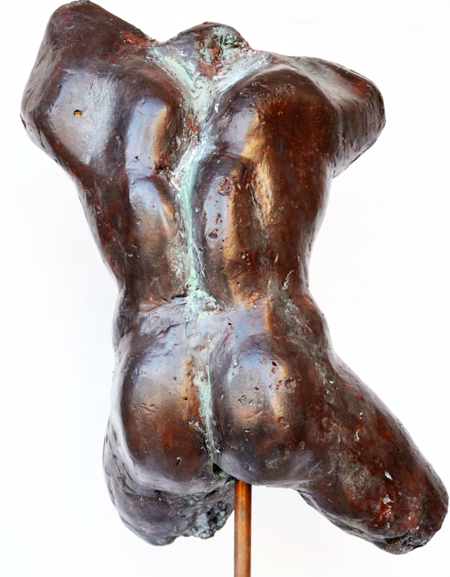 Impressionist man torso III,Yann Guillon,Sculpture, detail 3