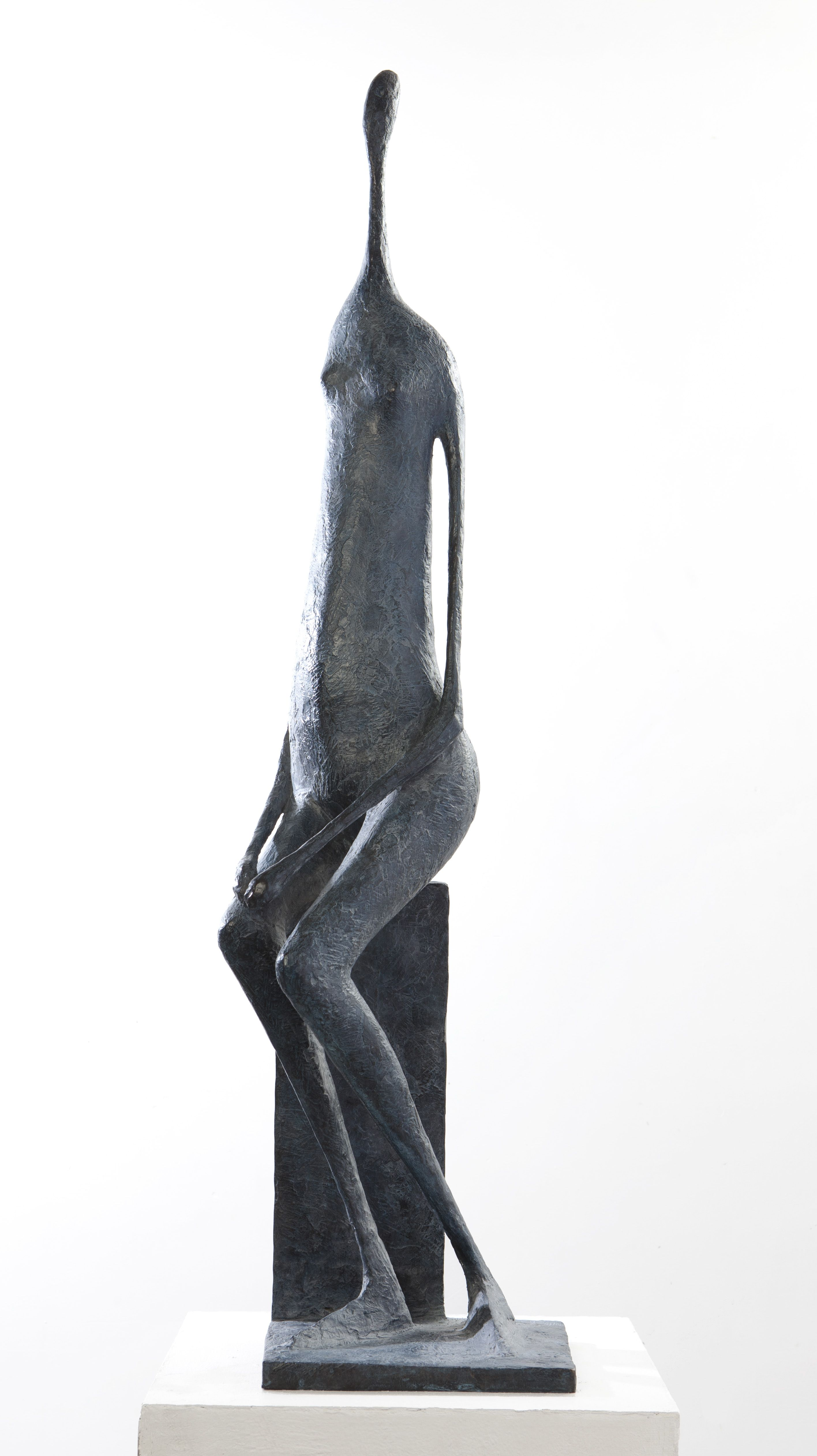 Grande Figure assise I,Pierre Yermia,Sculpture