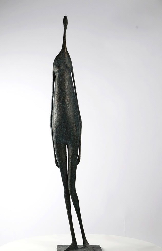 Great Standing Figure III,Pierre Yermia,Sculpture