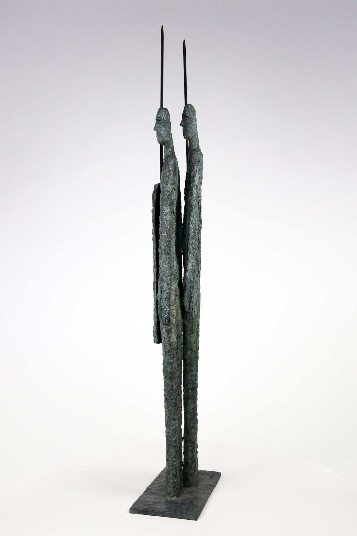 Great Warriors, Primary Forms series - Martine Demal - Sculpture - detail 2
