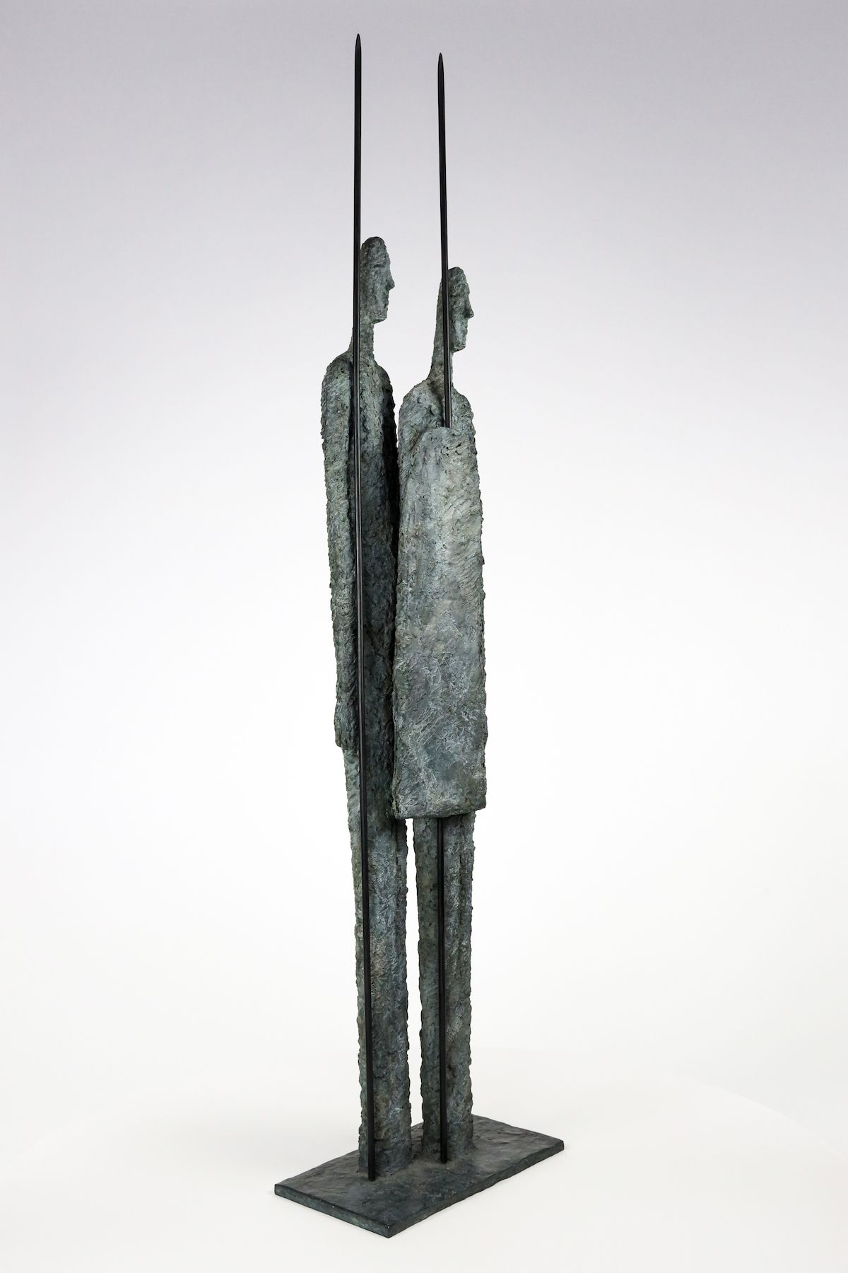 Great Warriors, Primary Forms series - Martine Demal - Sculpture - detail 3