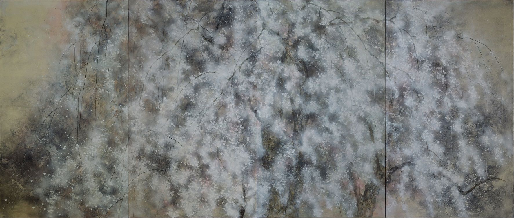 Hanami,Chen Yiching,Contemporary painting