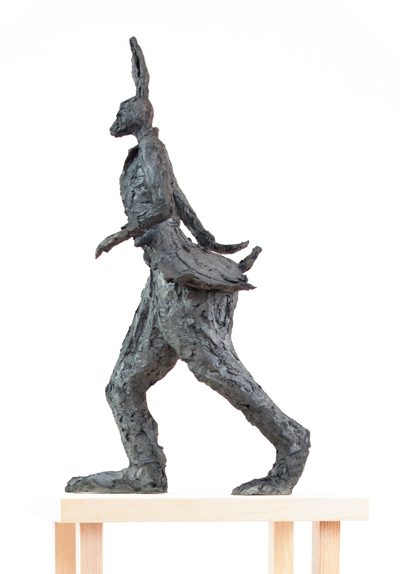 Walking Hare - Cécile Raynal - Sculpture - detail 1