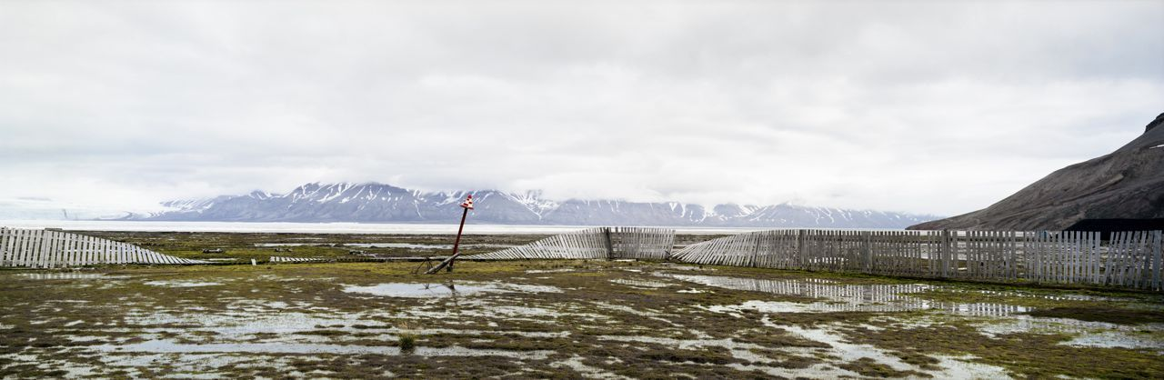 Helipad, Spitsbergen, Pyramid,Christian Houge,Photography