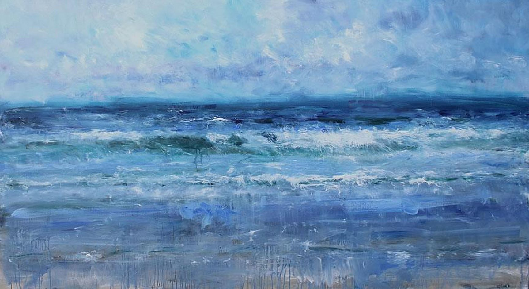 High Tide,Jonathan Shearer,Peinture contemporaine