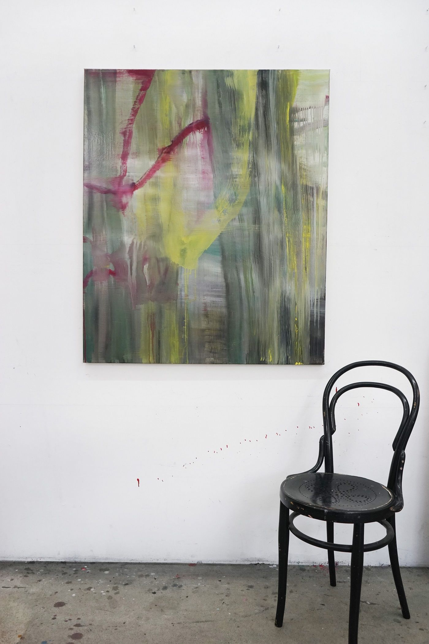 III (Norgous Bey's series) - Guy Oberson - Contemporary painting - detail 1