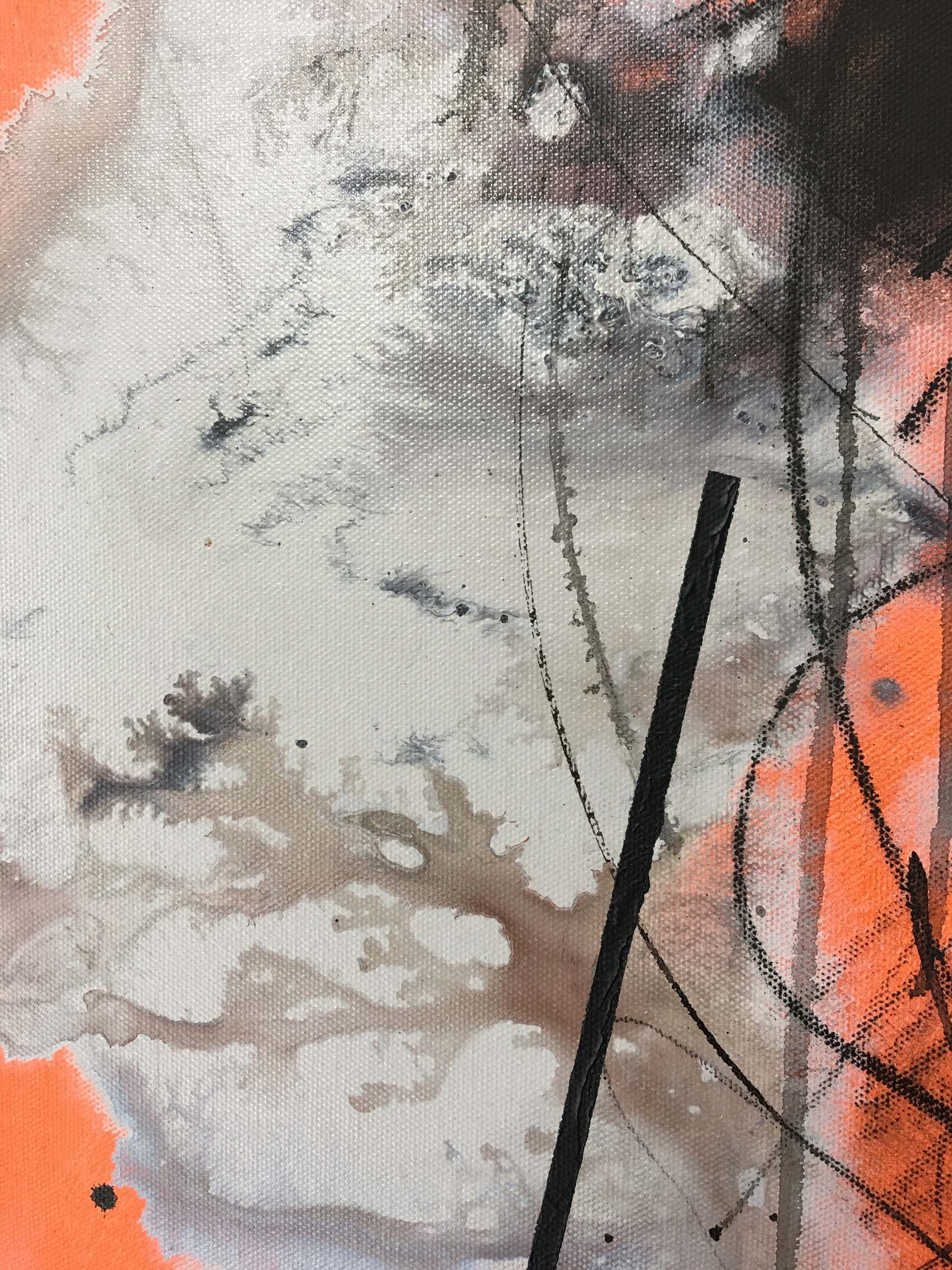 No. 189,Hongyu Zhang,Peinture contemporaine, detail 3