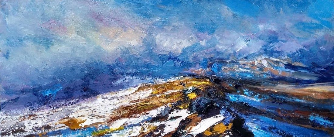 Contemporary painting - Jonathan Shearer - In the Rough bounds, Knoydart