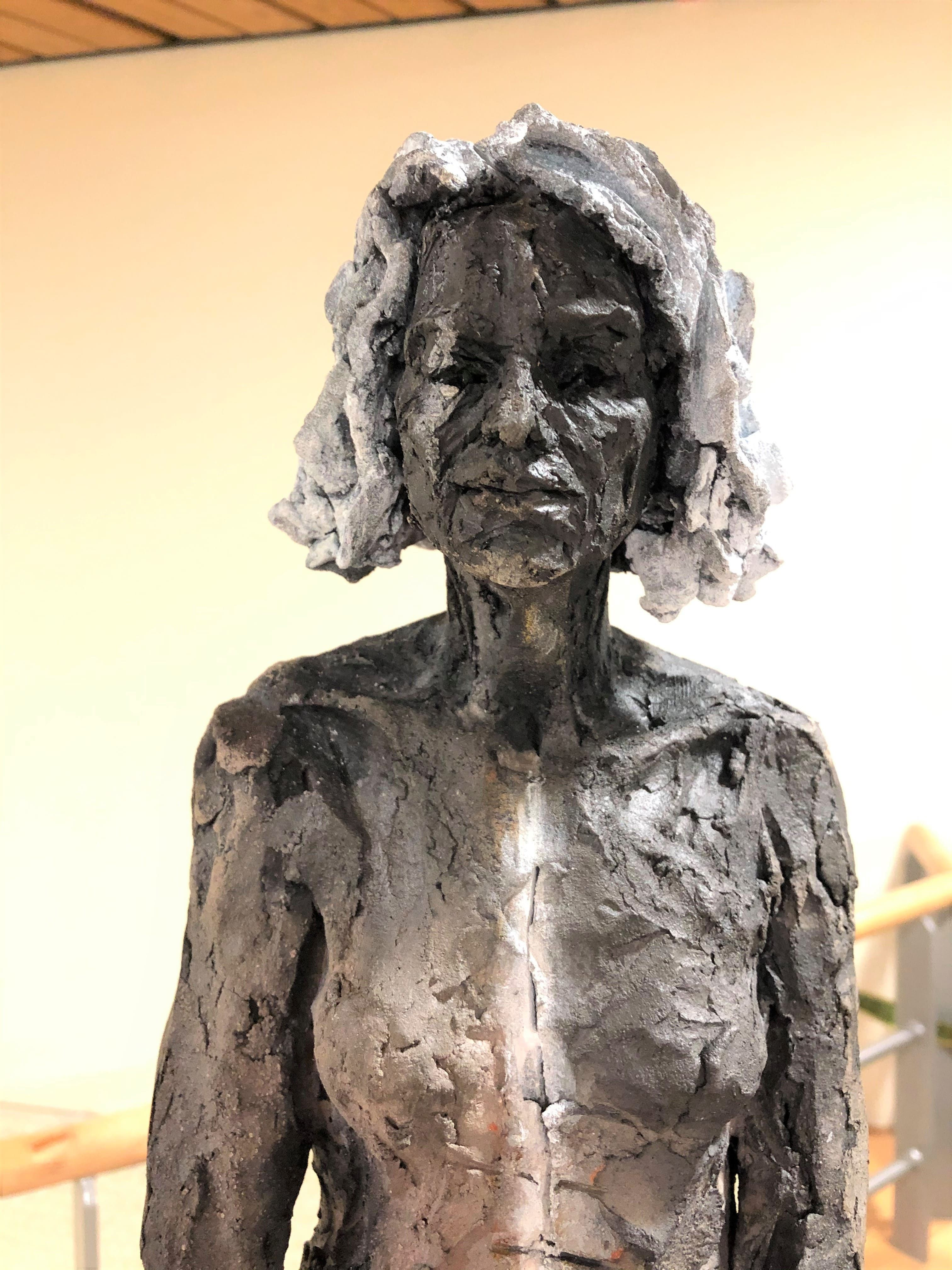 Inès,Cécile Raynal,Sculpture contemporaine, detail 2