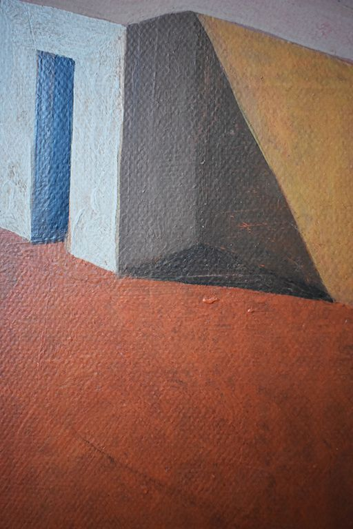 Jain ,Ramon Enrich,Peinture contemporaine, detail 2