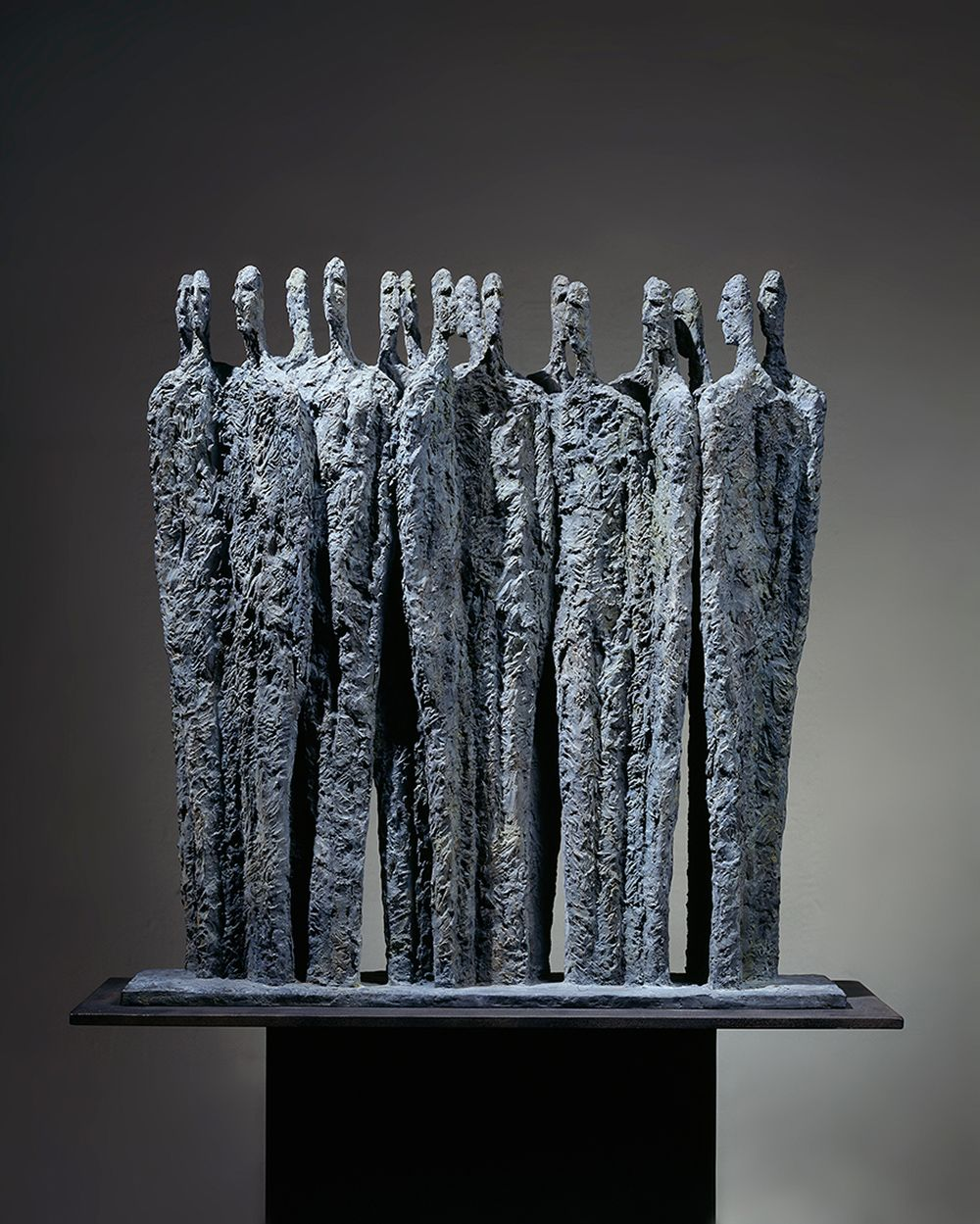 The Meeting, Primary Forms series - Martine Demal - Sculpture