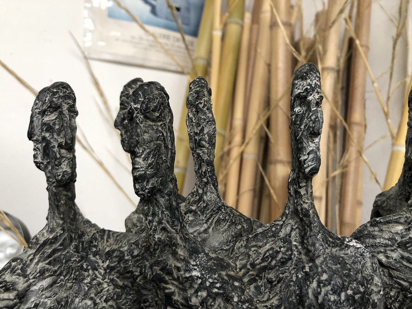 The Meeting, Primary Forms series,Martine Demal,Sculpture, detail 1
