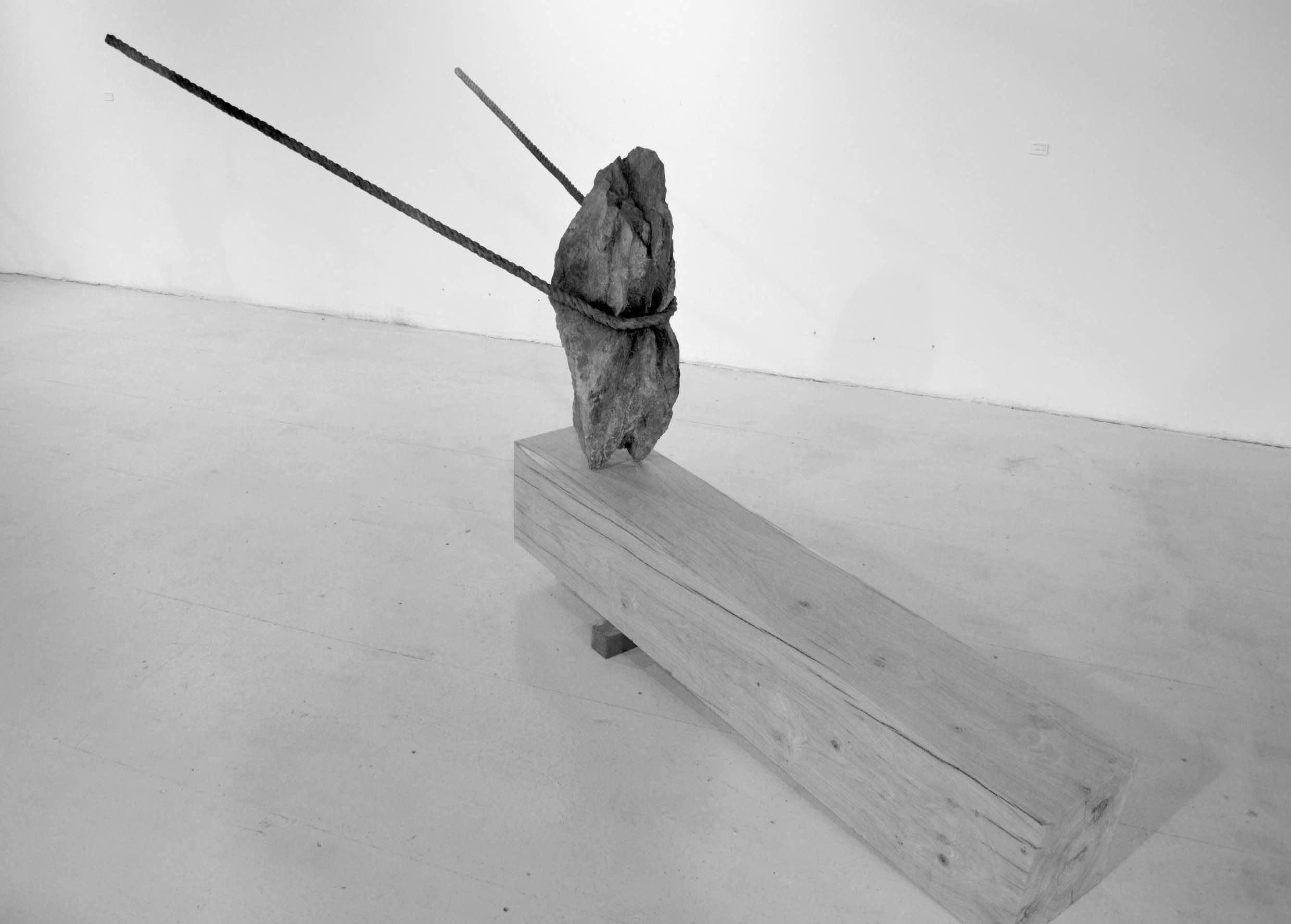 Attraction du vide II,Romain Langlois,Sculpture, detail 2