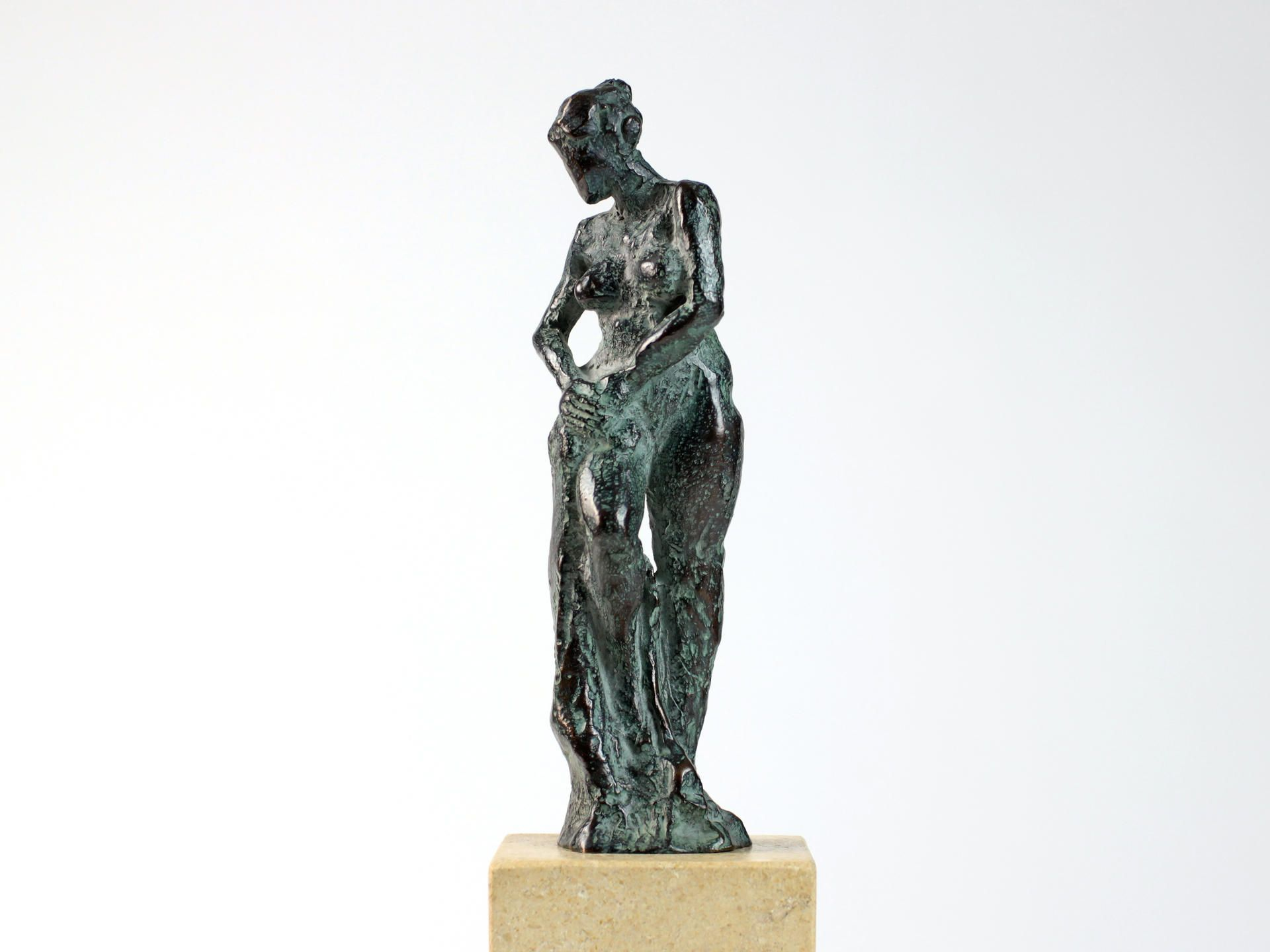 The Little Bather II,Yann Guillon,Sculpture