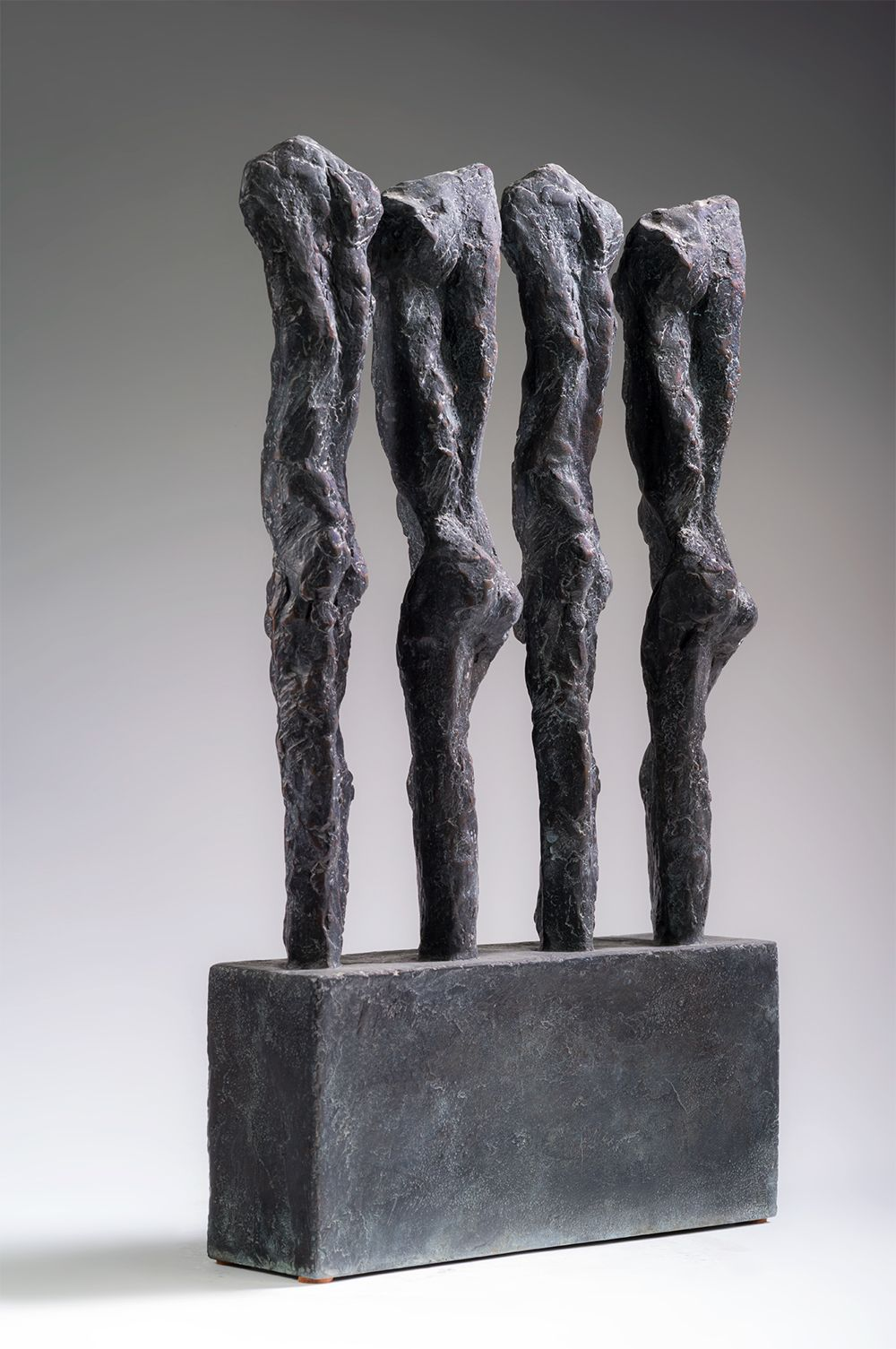 In line, Primary Forms series - Martine Demal - Sculpture